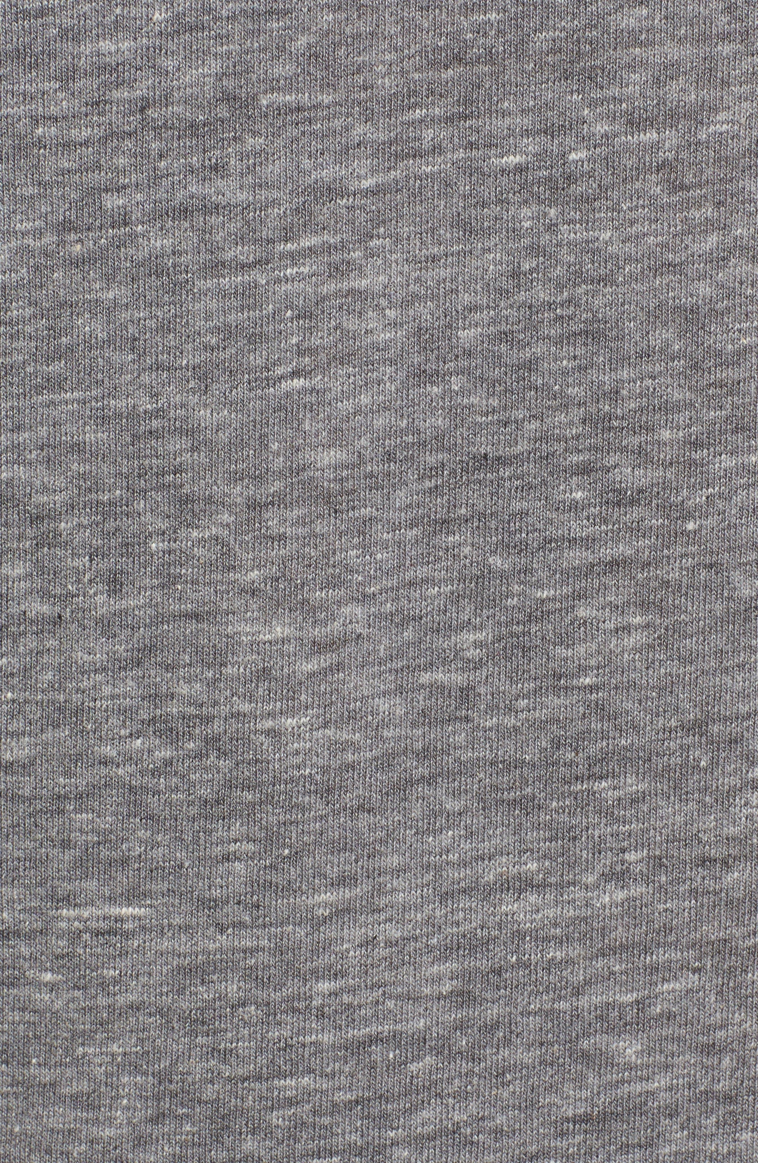 Football T-Shirt,                             Alternate thumbnail 5, color,                             Eco Grey/ Eco Ivory