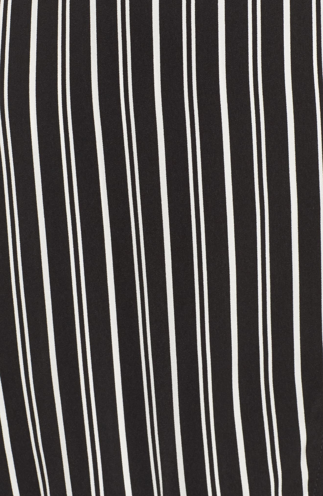 Alternate Image 5  - The Fifth Label Ophelia Stripe Wrap Dress