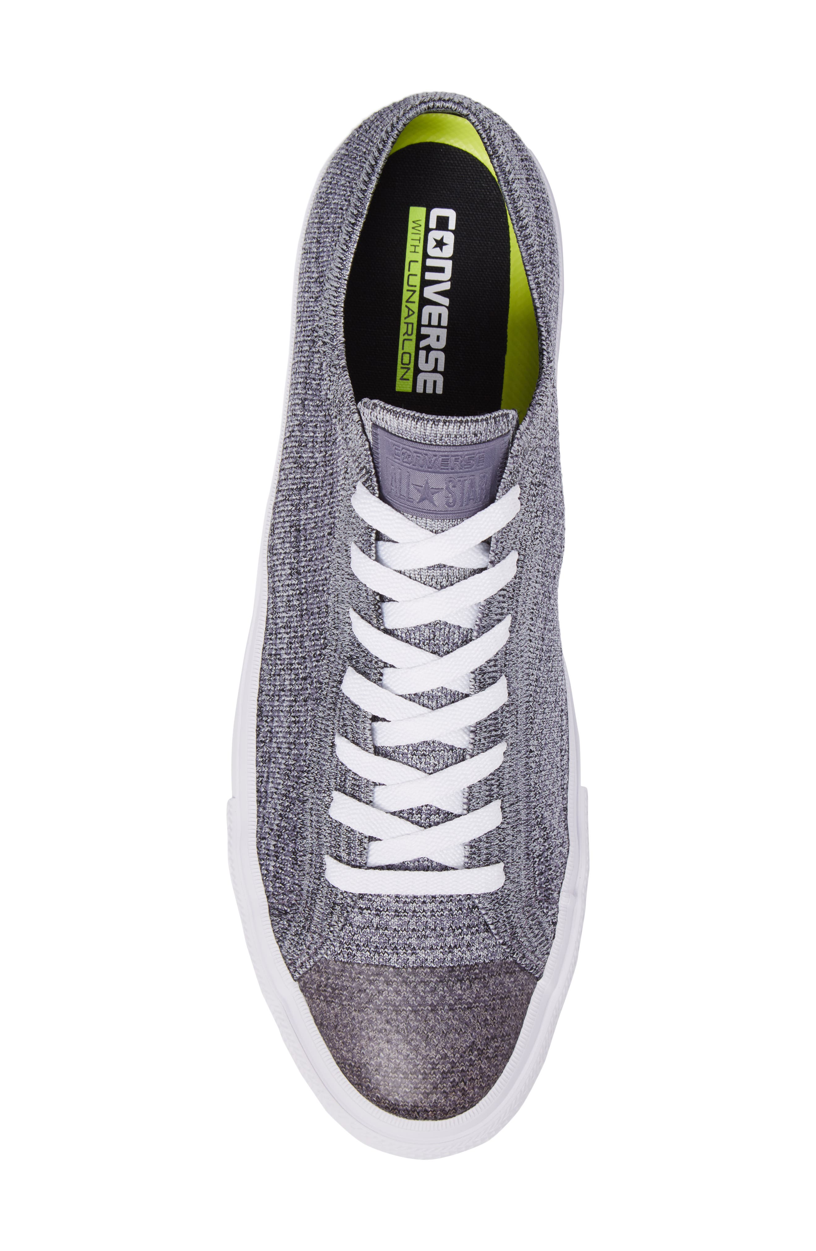 Chuck Taylor<sup>®</sup> All Star<sup>®</sup> Flyknit Sneaker,                             Alternate thumbnail 5, color,                             Carbon
