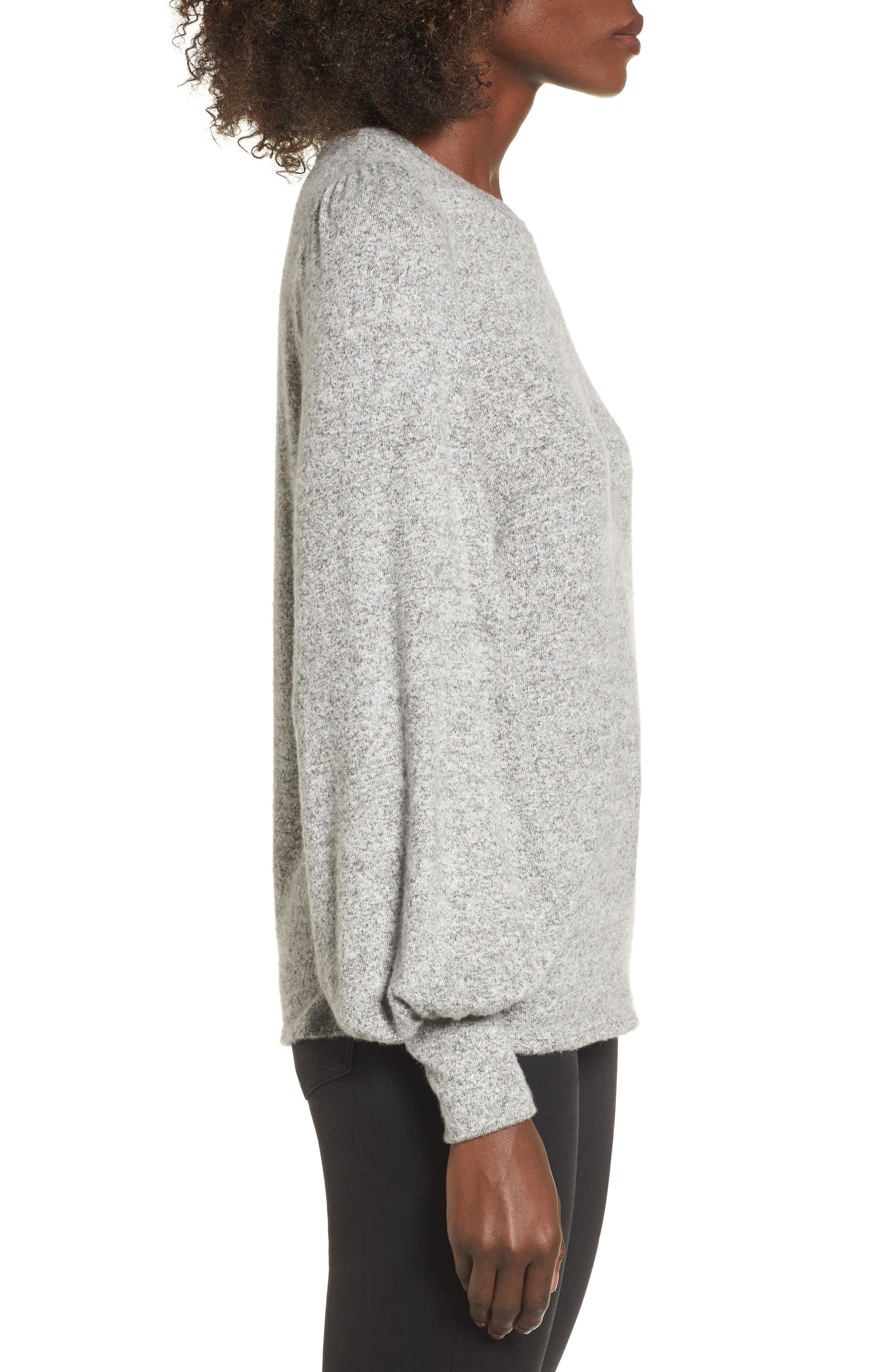 Alternate Image 3  - Soprano Bell Sleeve Pullover