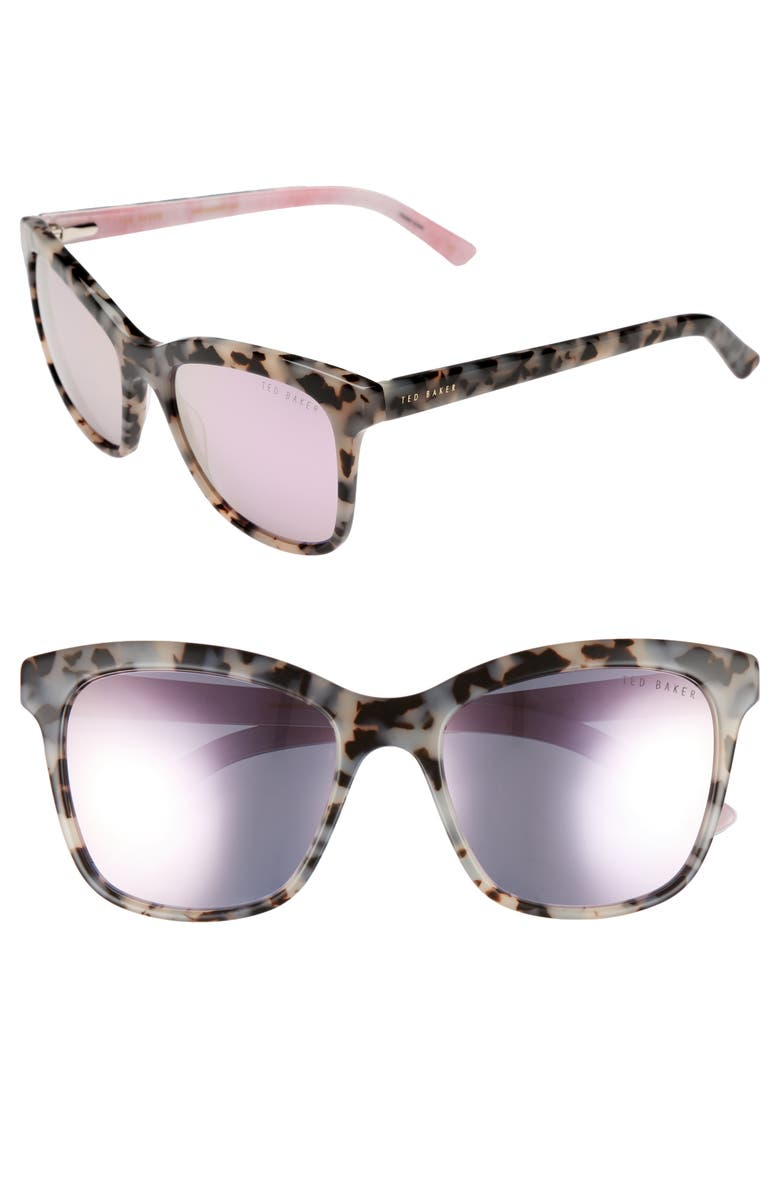 b4024cfc671 Ted Baker 55Mm Cat Eye Sunglasses - Ivory