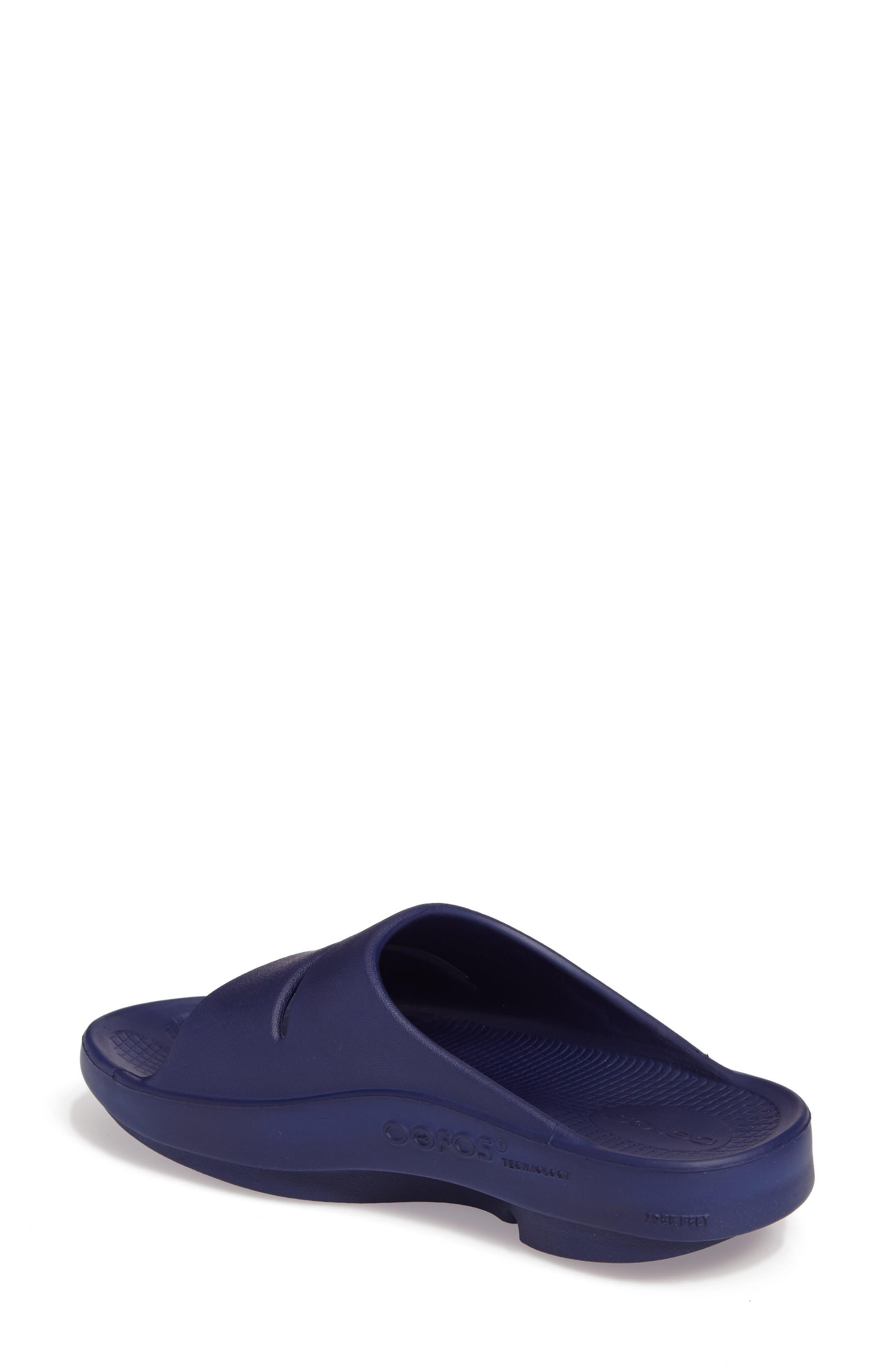 Alternate Image 2  - Oofos OOahh Slide Sandal (Women)