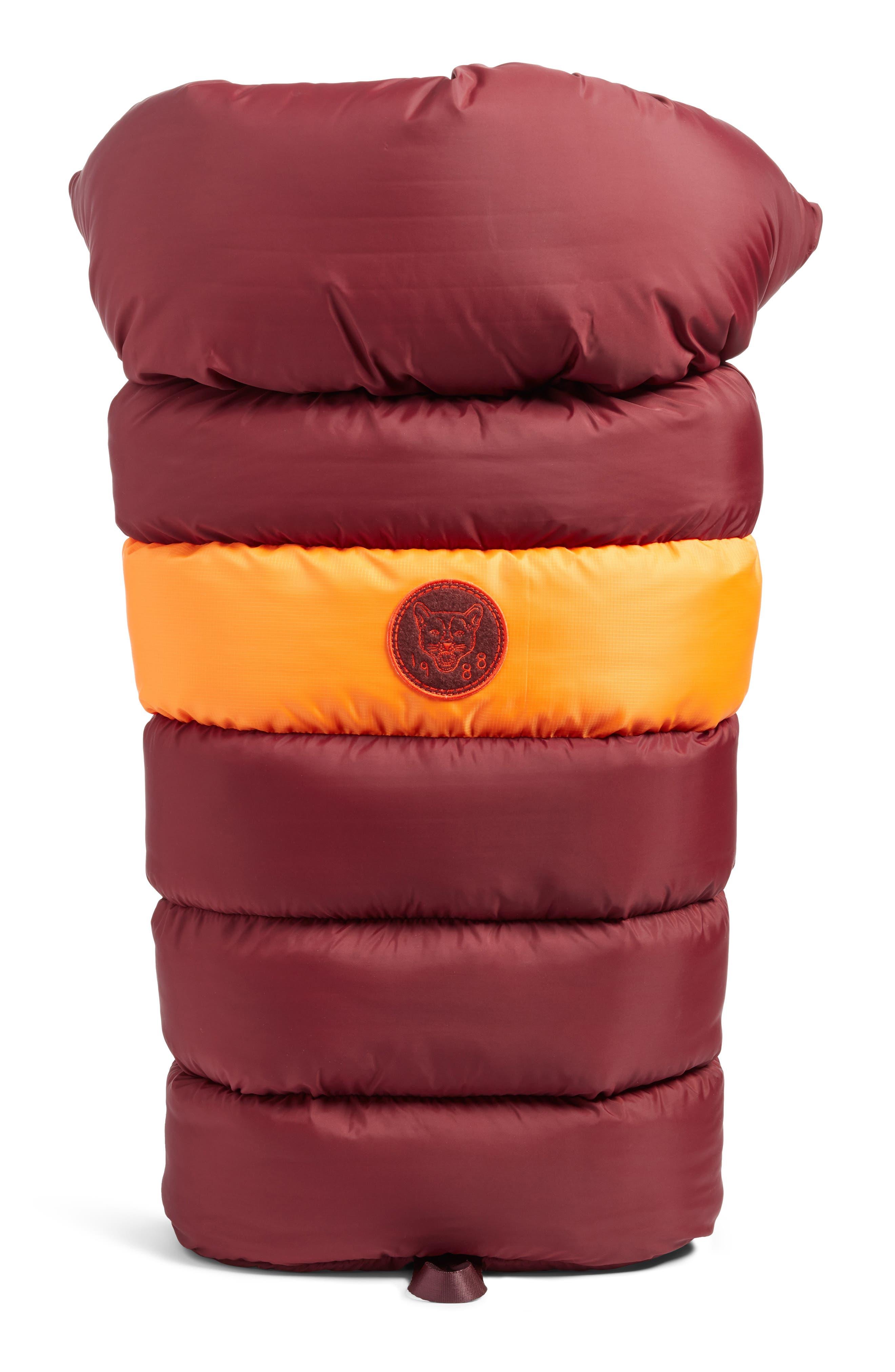 PUMA by Rihanna Backpack,                             Main thumbnail 1, color,                             Burgundy Orange