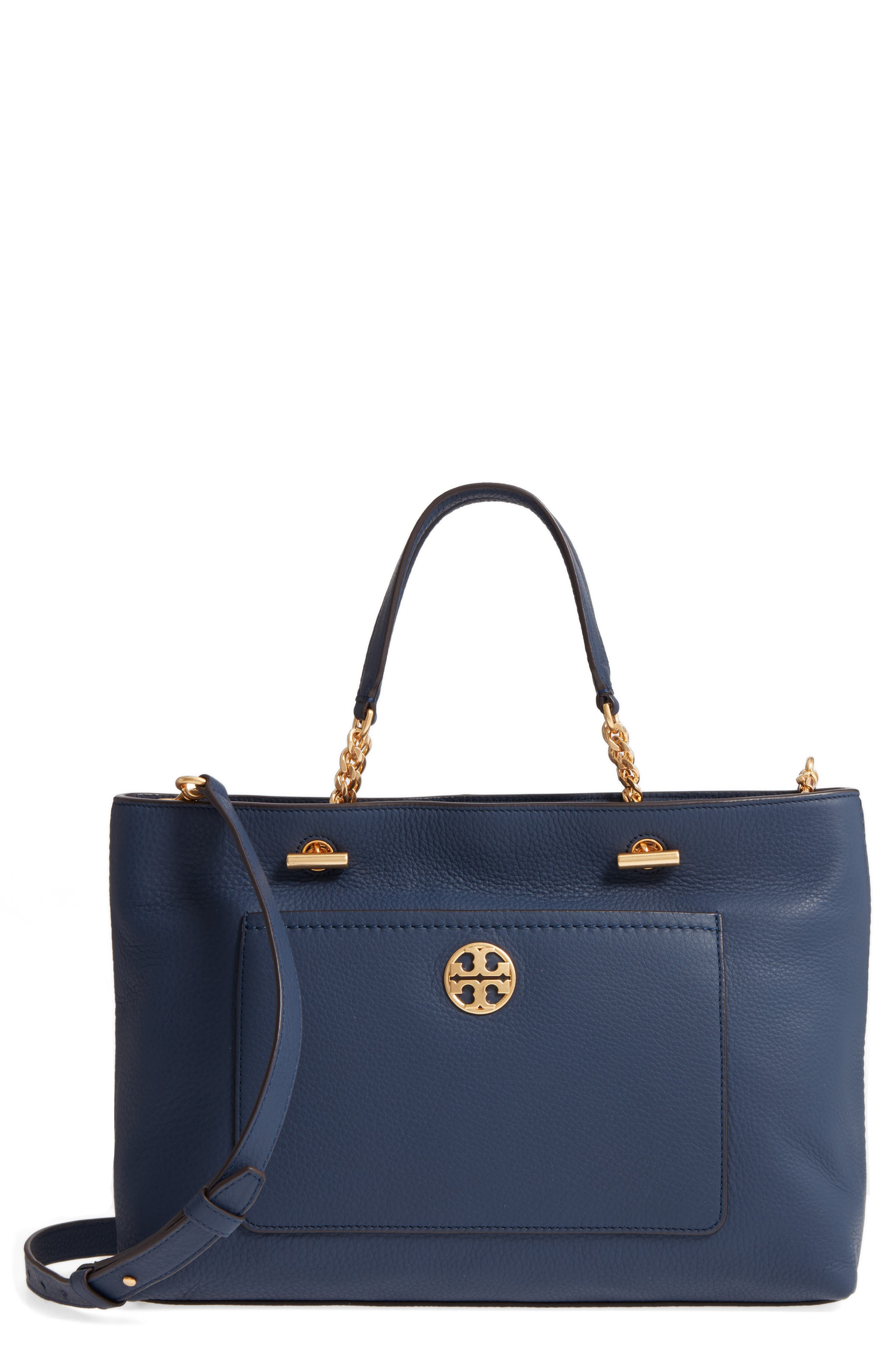 Tory Burch Chelsea Leather Satchel