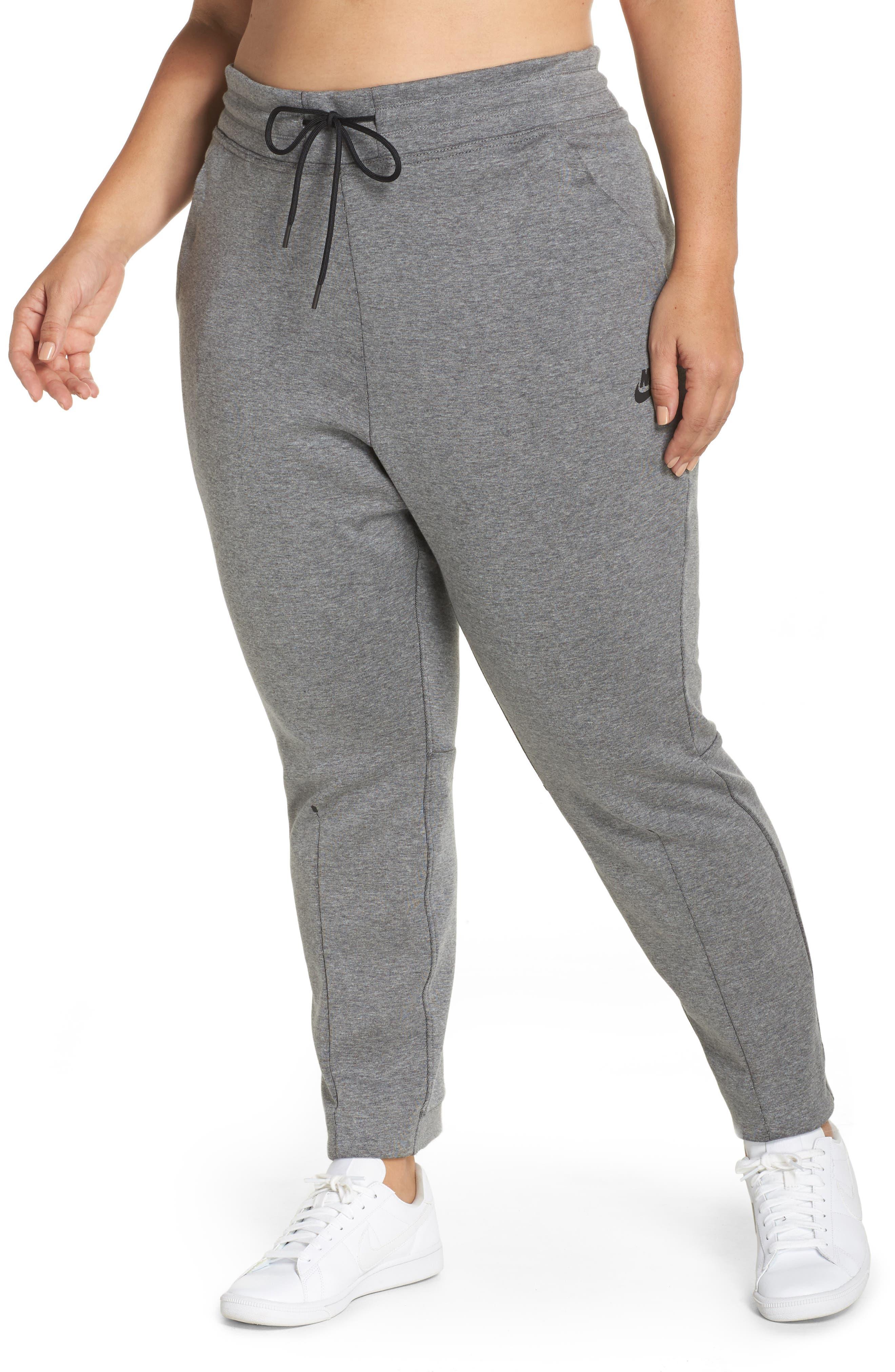 Tech Fleece Jogger Pants,                         Main,                         color, Carbon Heather/ Black