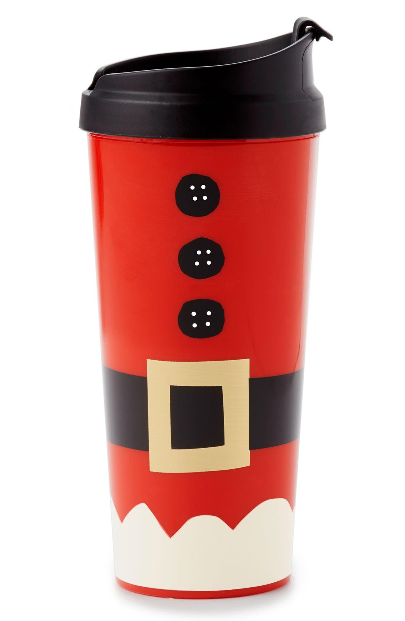 kate spade new york holiday village thermal mug