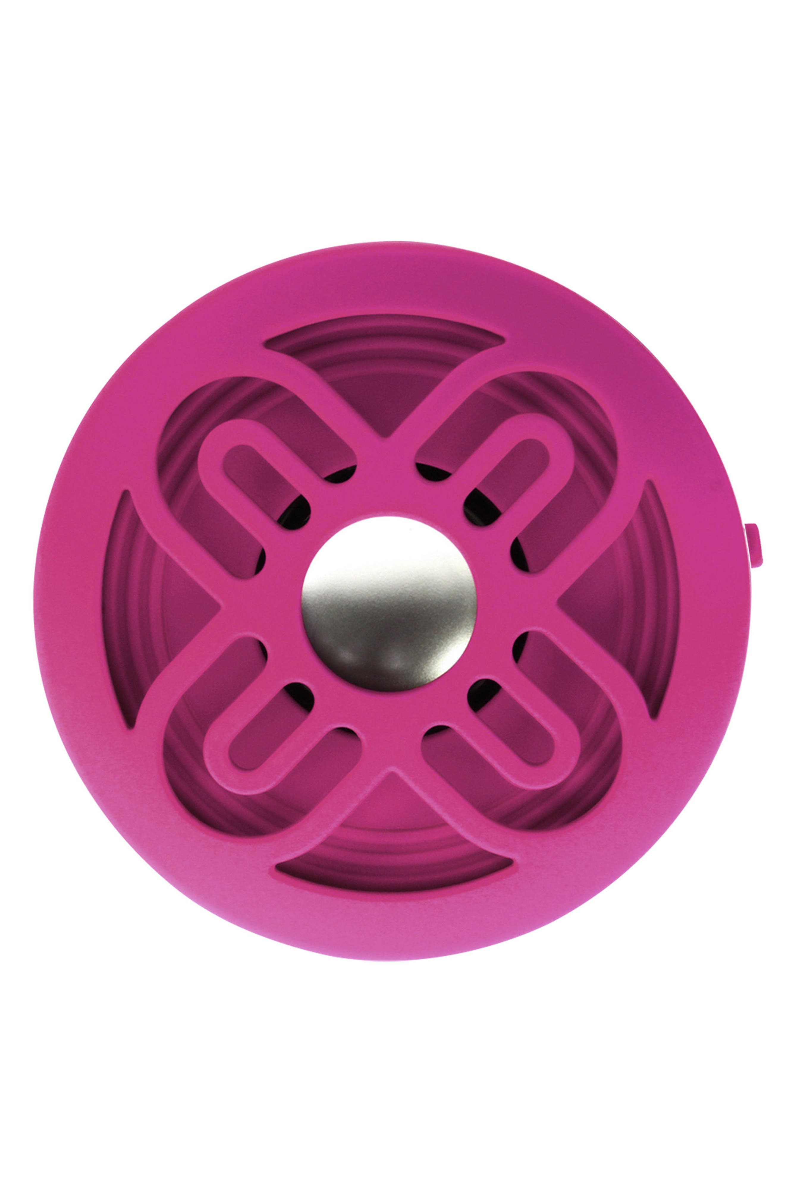 Bassdisc Bluetooth<sup>®</sup> Speaker,                             Alternate thumbnail 2, color,                             Pink