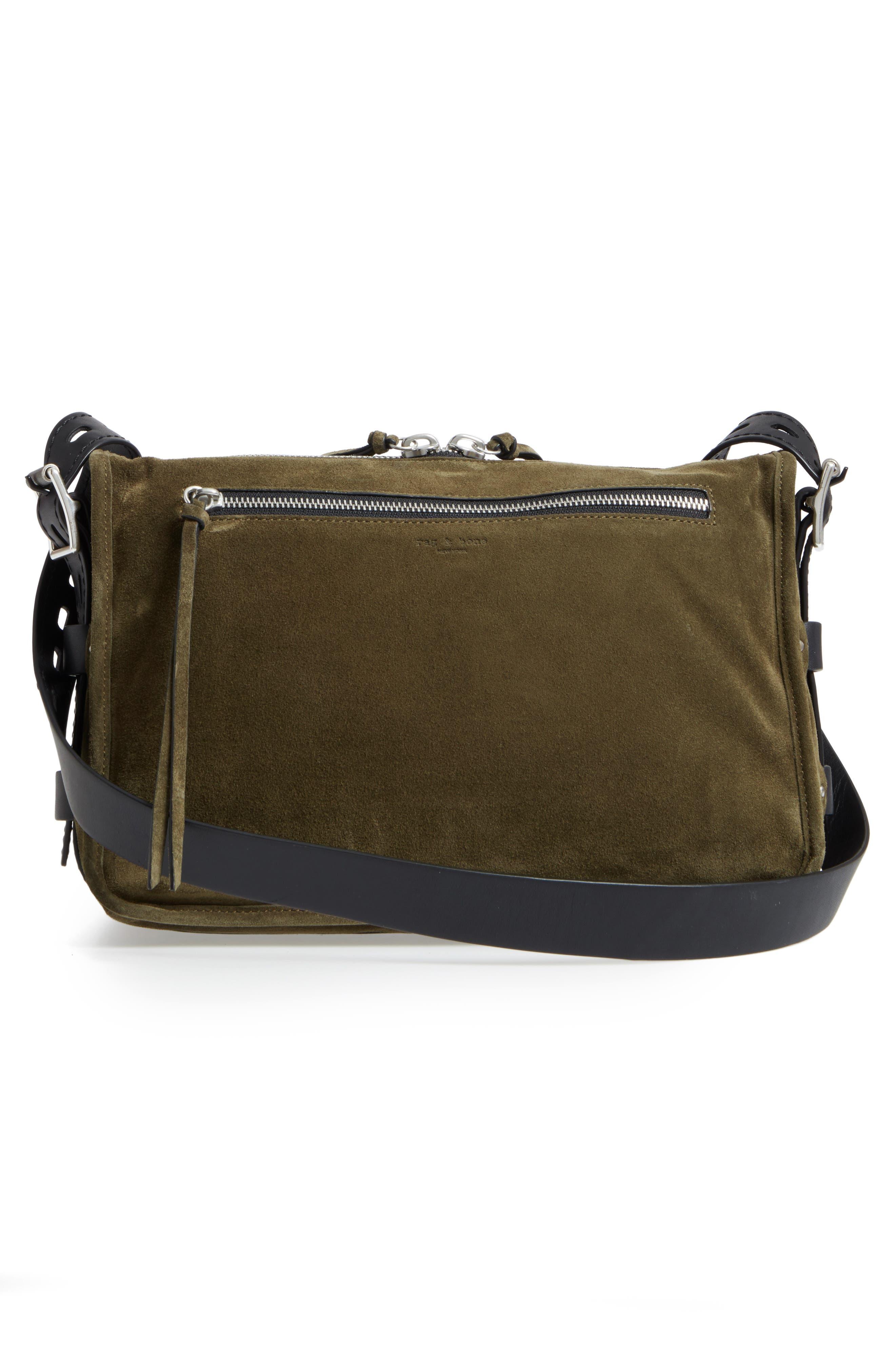 Alternate Image 3  - rag & bone Field Messenger Suede Shoulder Bag