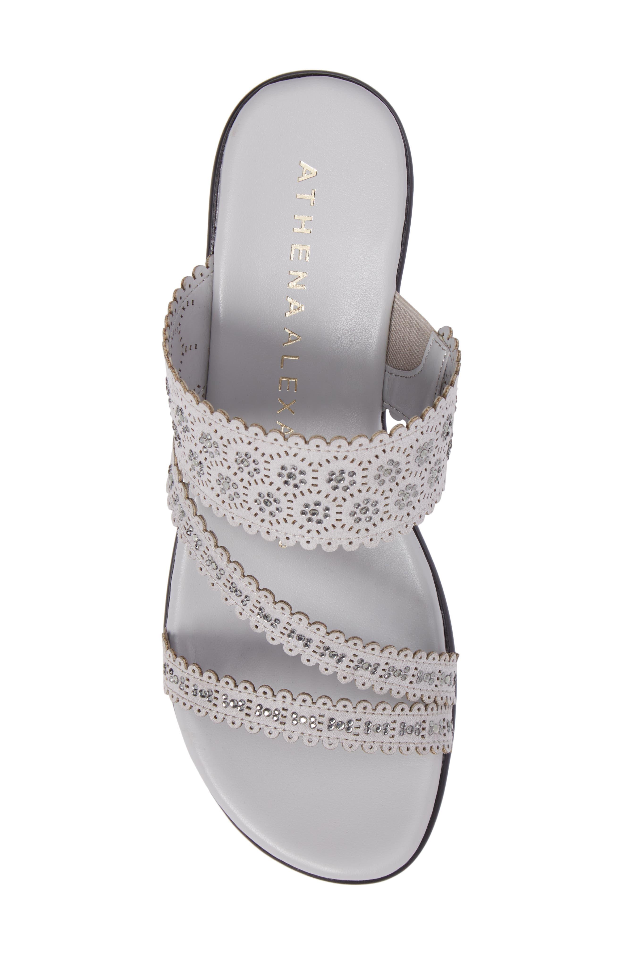 Alternate Image 5  - Athena Alexander Poppy Wedge Sandal (Women)