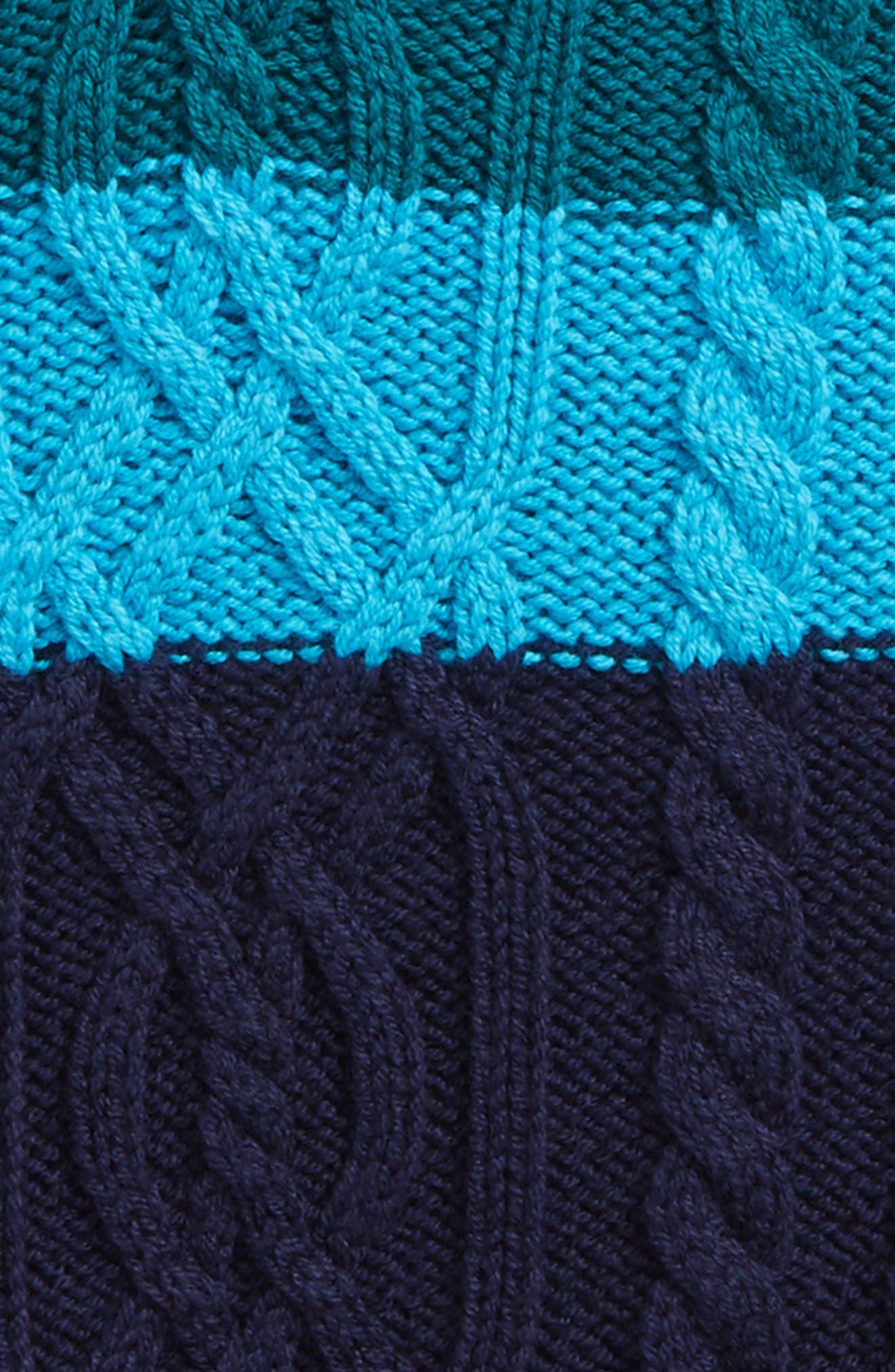 Alternate Image 2  - Tea Collection Edan Cable Knit Sweater Vest (Toddler Boys, Little Boys & Big Boys)