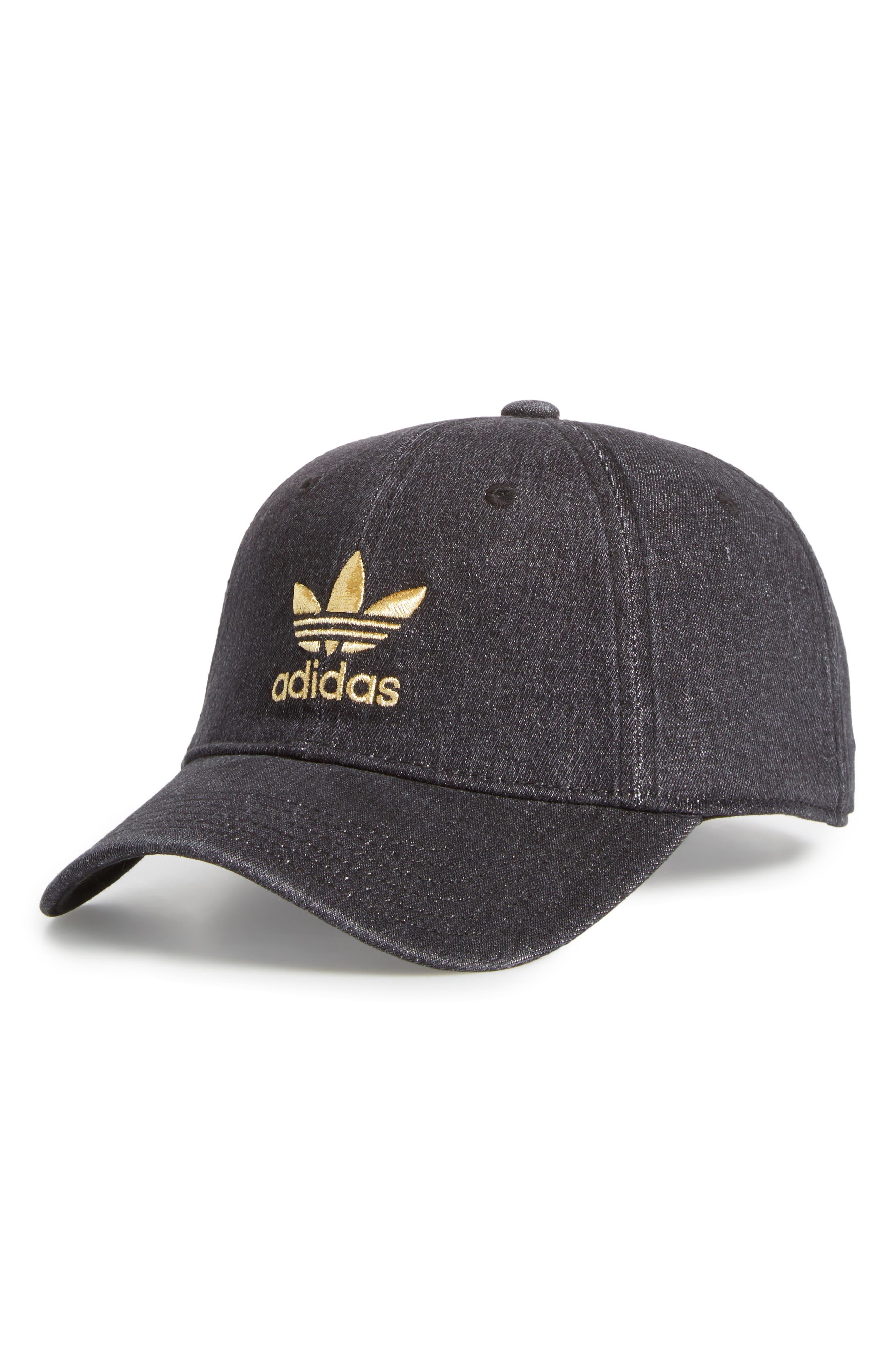 adidas Washed Denim Ball Cap