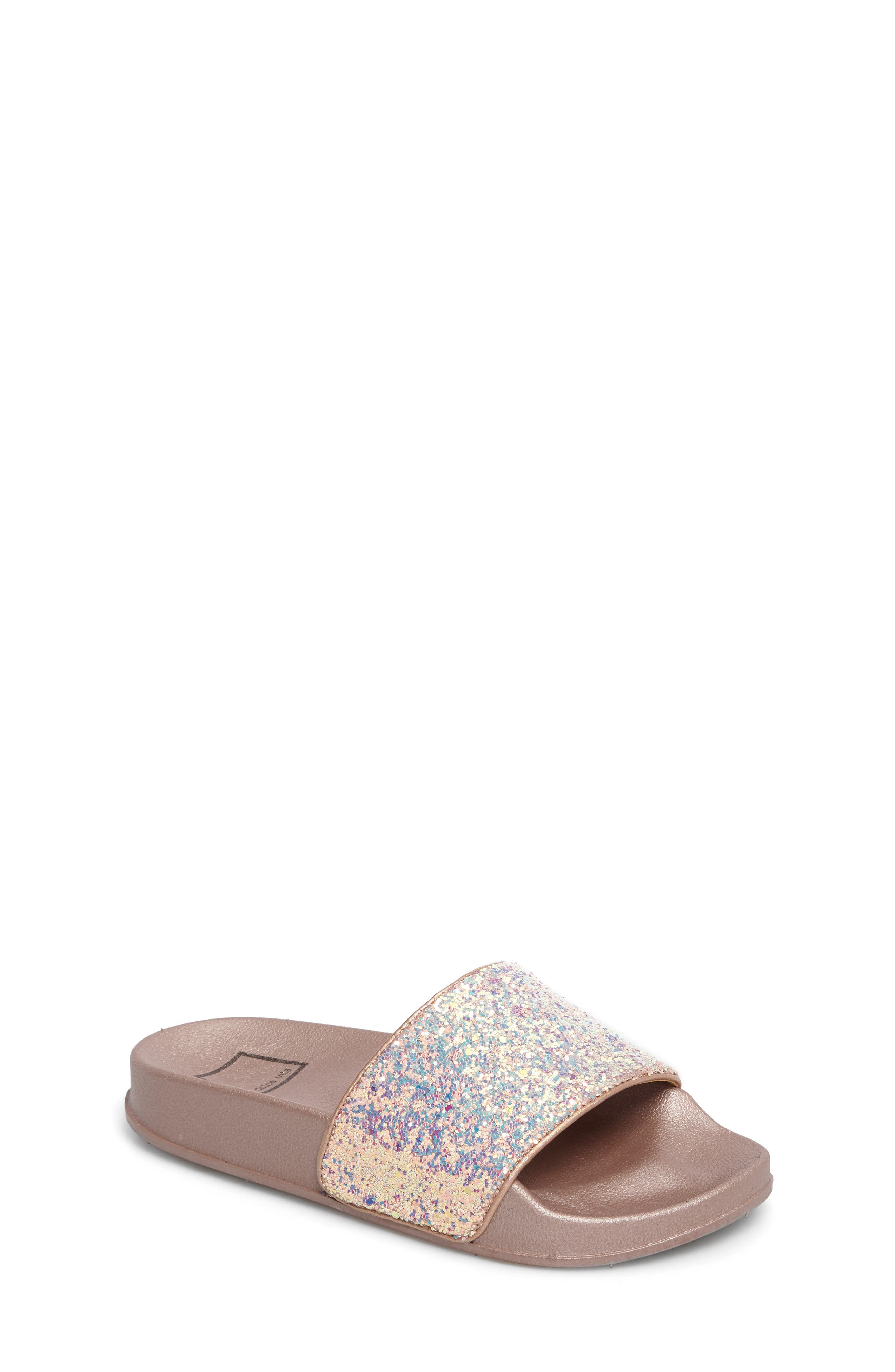 Dolce Vita Shorty Glittery Pool Slide (Toddler, Little Kid & Big Kid)