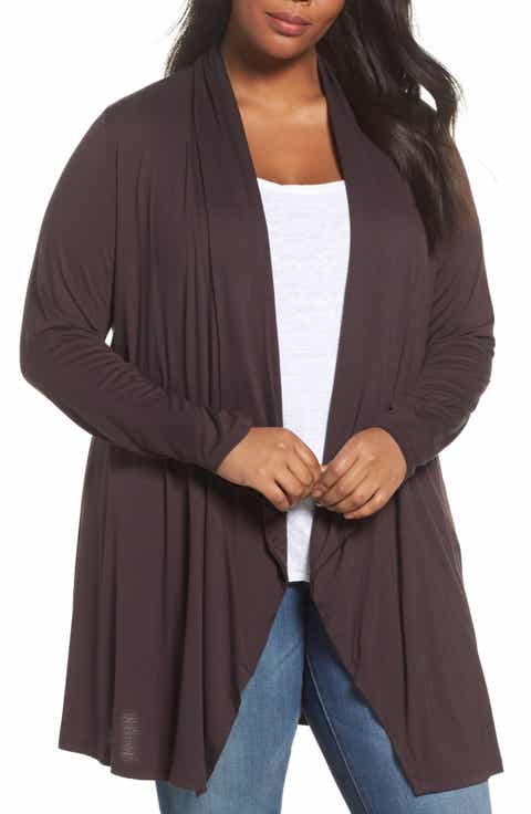 Women's Brown Plus-Size Sweaters | Nordstrom