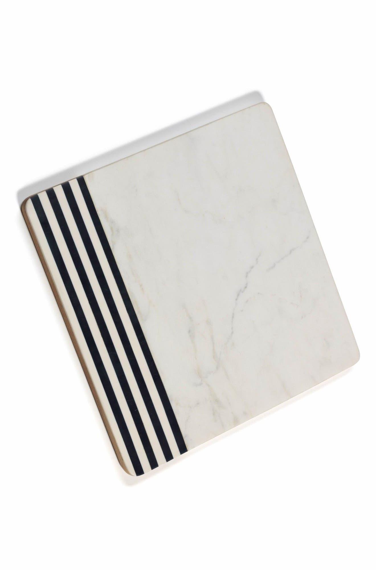 Marine Cutting Board,                         Main,                         color, White/ Black