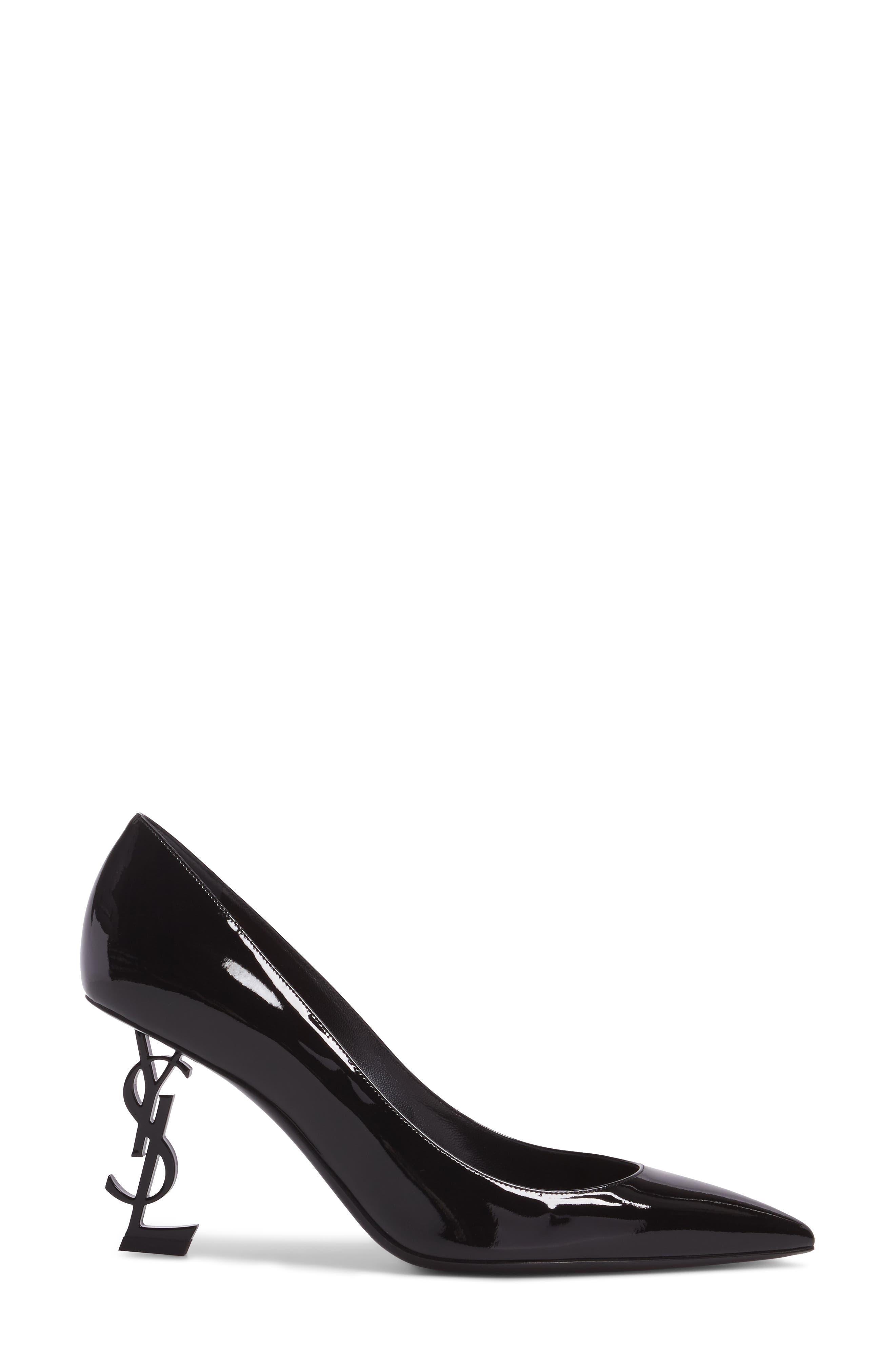 Alternate Image 3  - Saint Laurent Opyum YSL Pointy Toe Pump (Women)