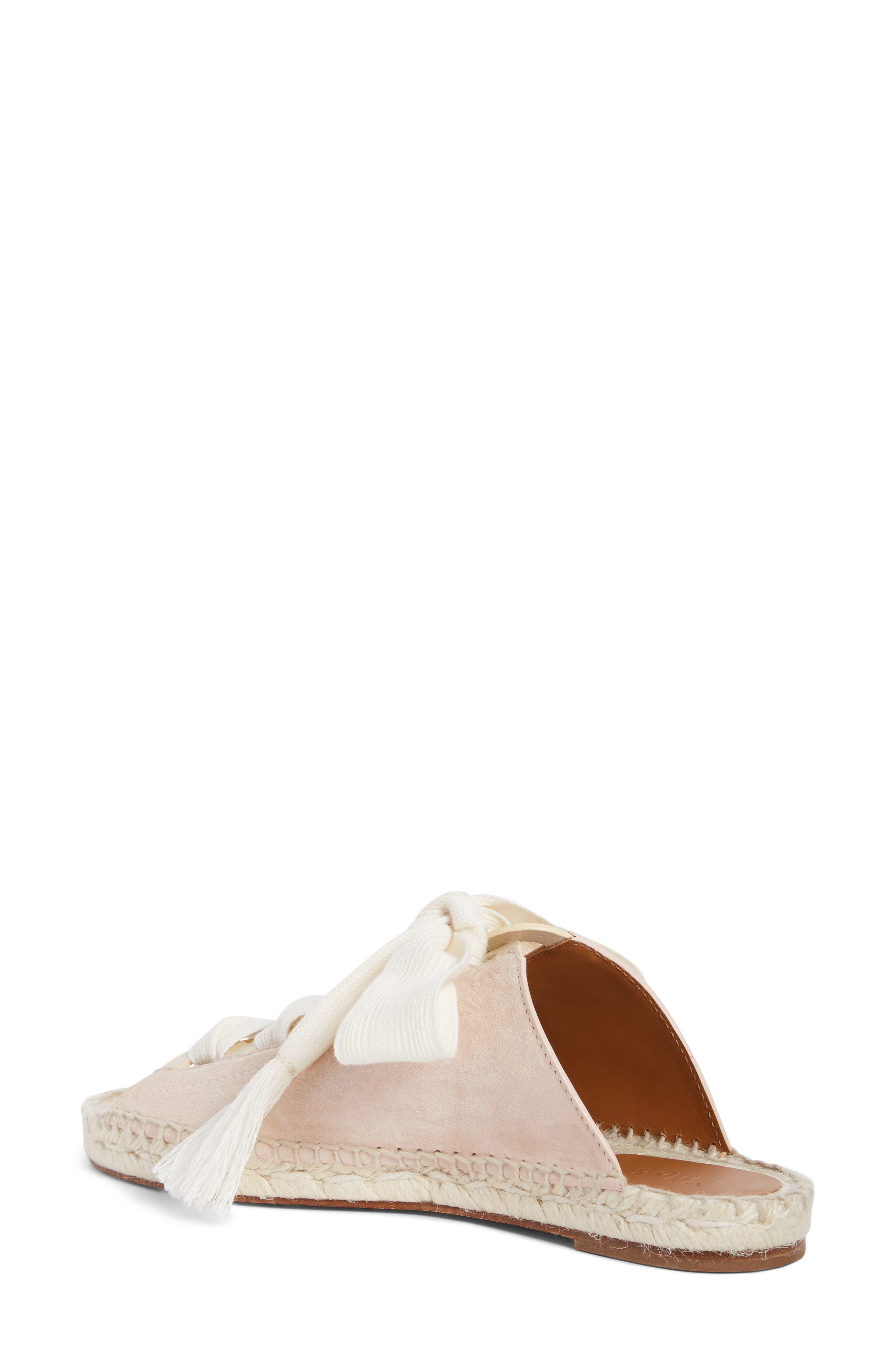 Harper Lace-Up Espadrille Slide Sandal,                             Alternate thumbnail 2, color,                             Maple Pink
