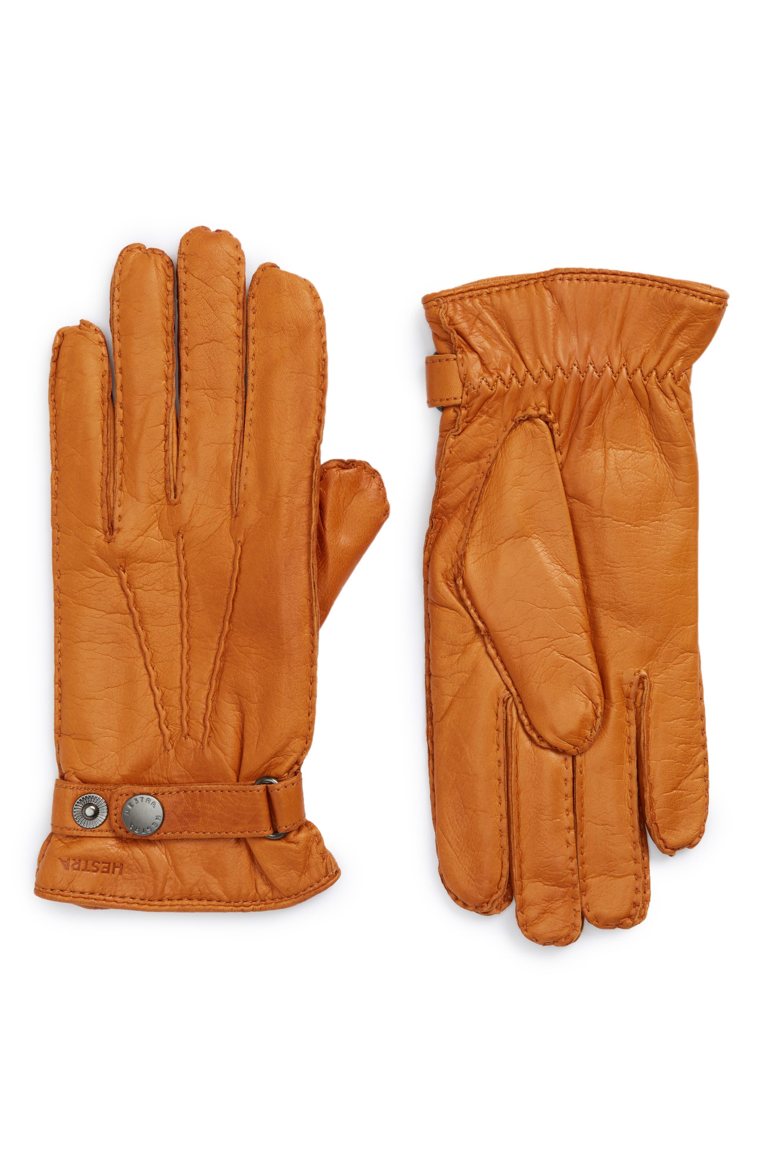 'Jake' Leather Gloves,                         Main,                         color, Cork