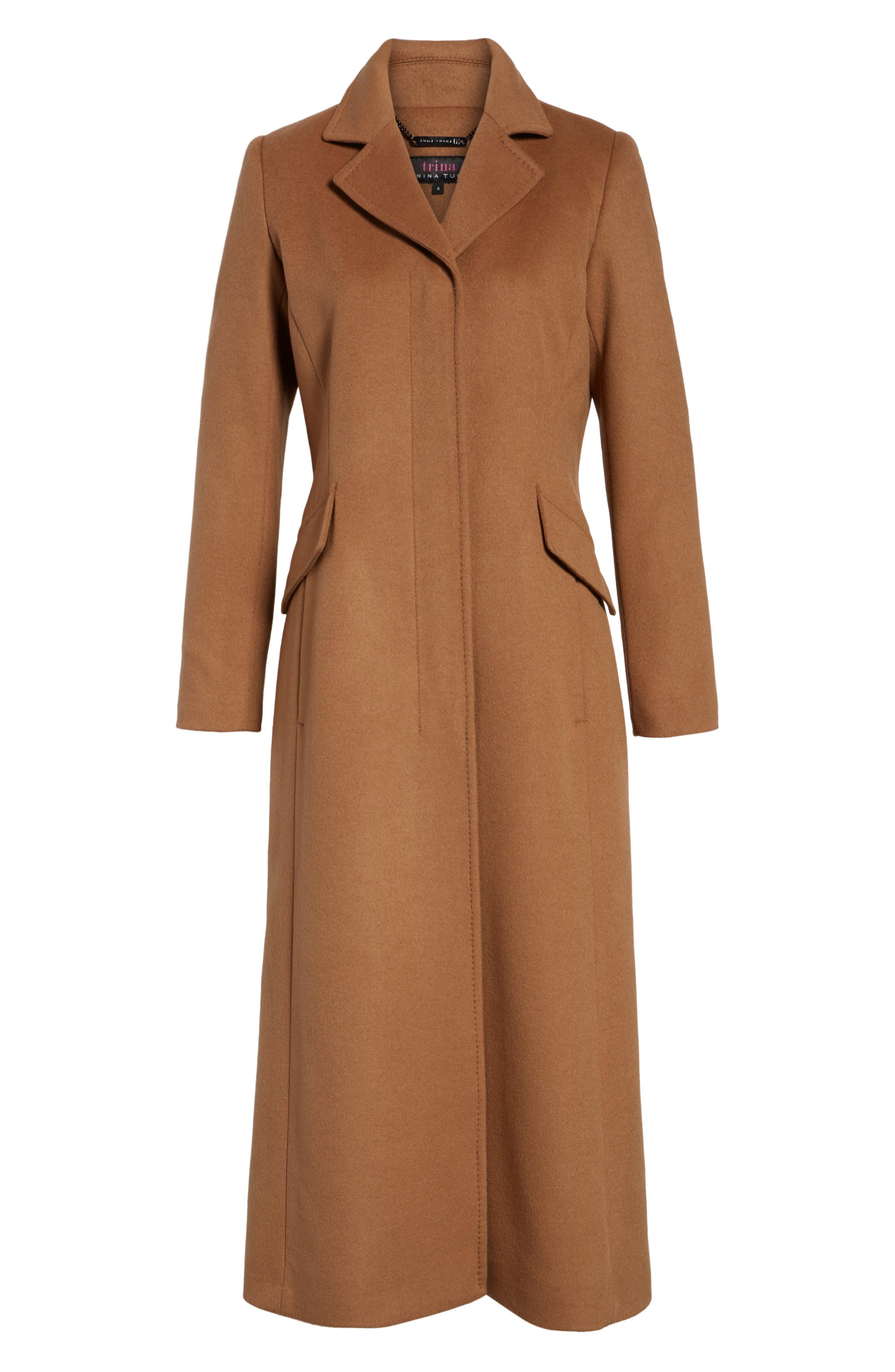 Alternate Image 6  - trina Trina Turk Emi Wool Blend Coat