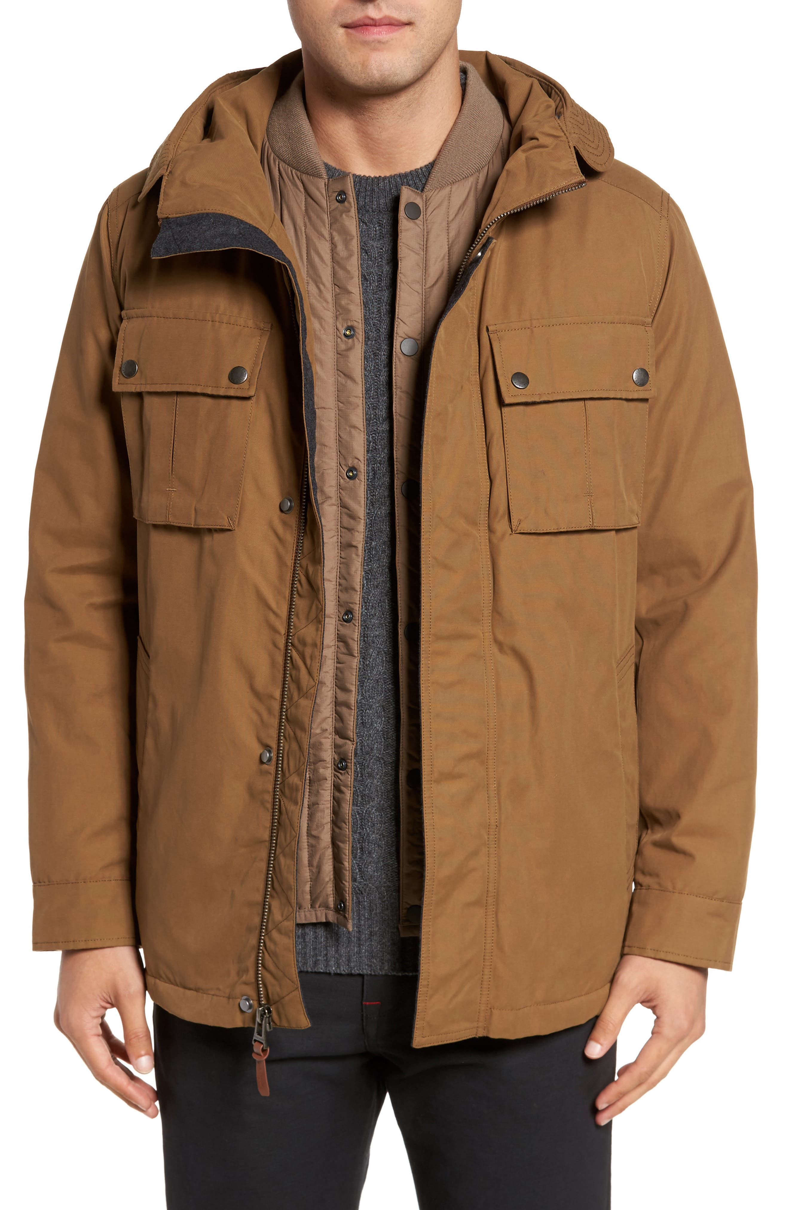 Cole Haan 3-in-1 Military Utility Jacket