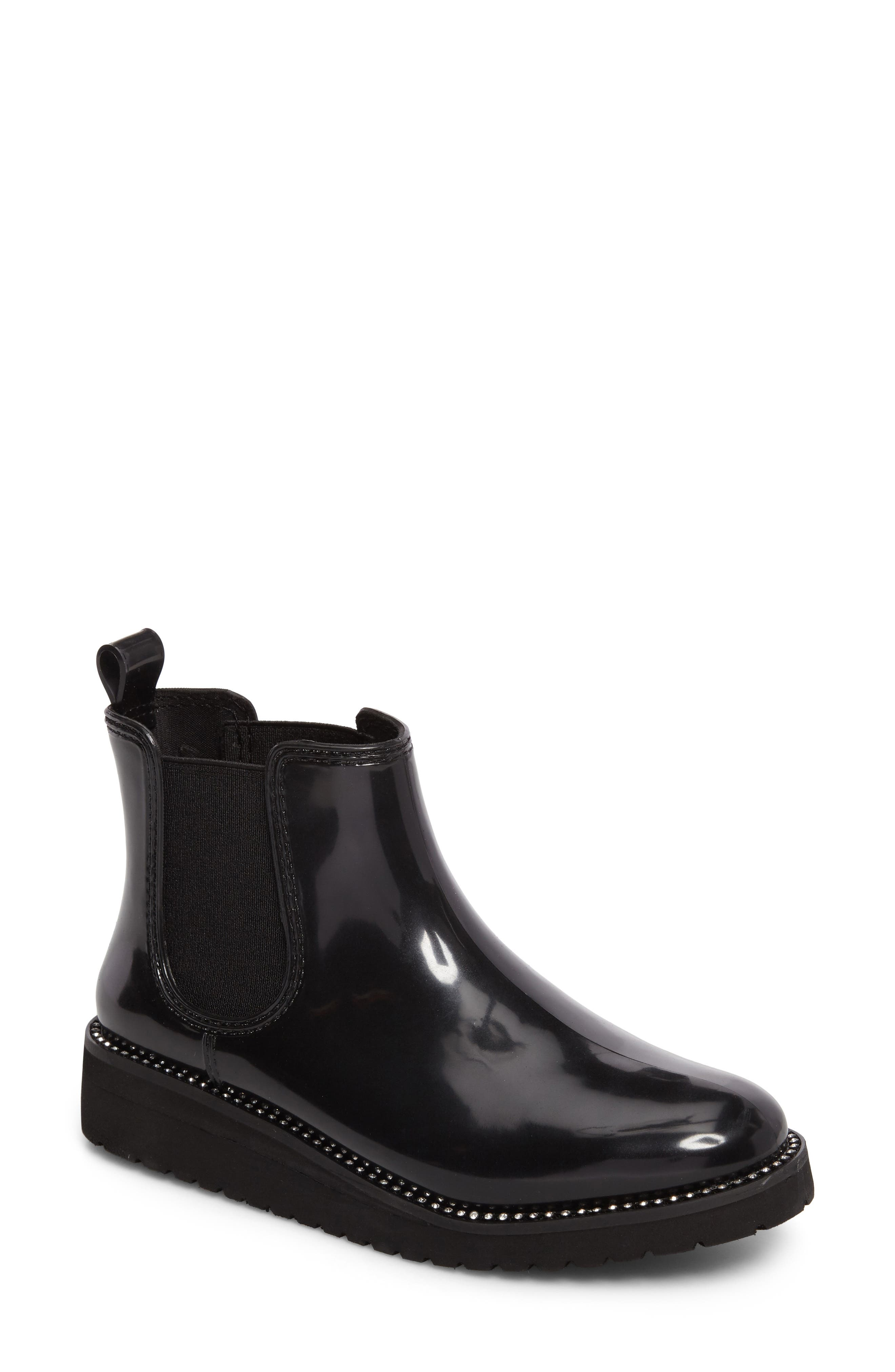 Kerry Waterproof Chelsea Boot,                             Main thumbnail 1, color,                             Black Diamond Welt