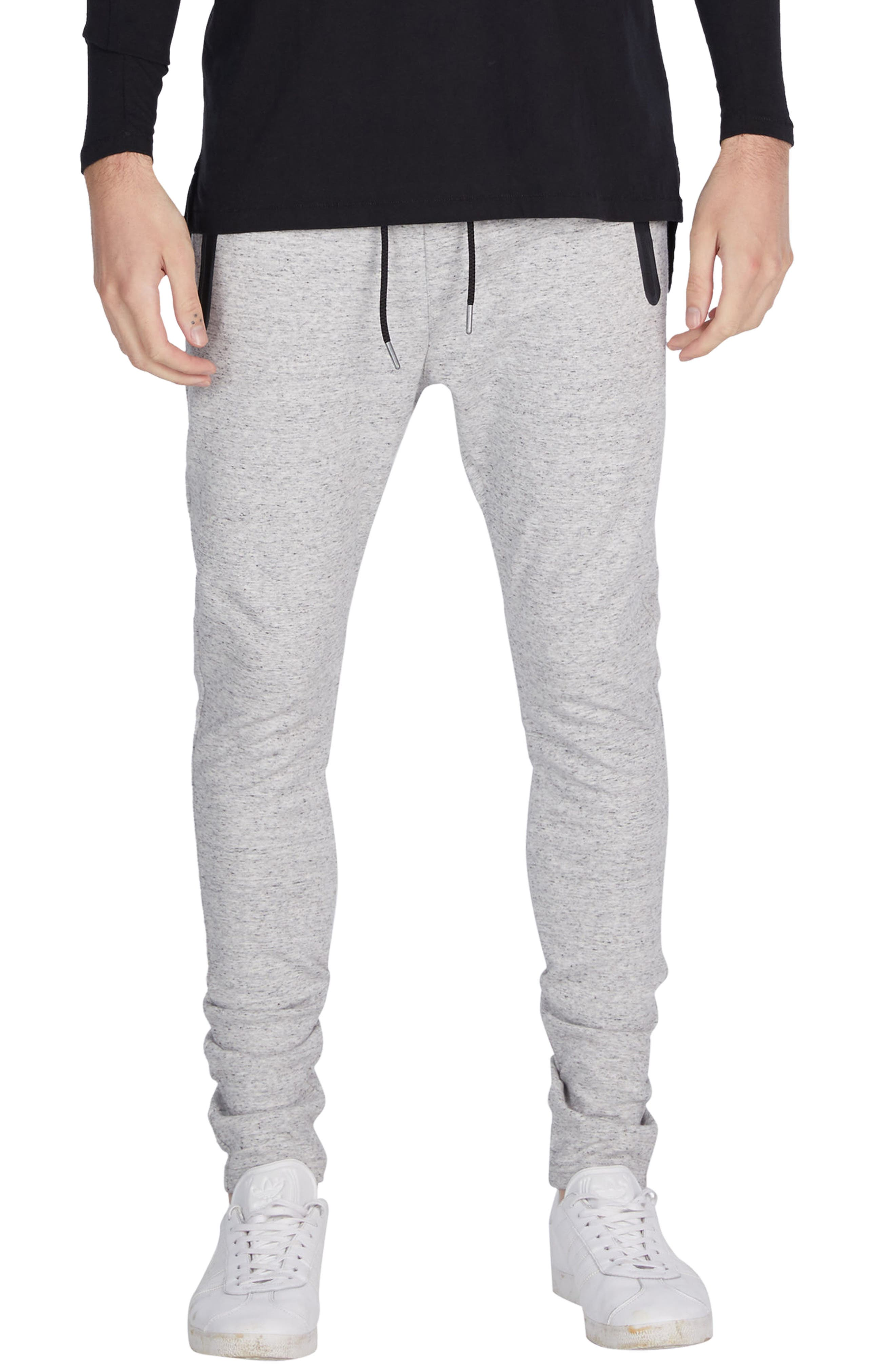 'Cling Ponte' Jogger Pants,                         Main,                         color, Storm Marle