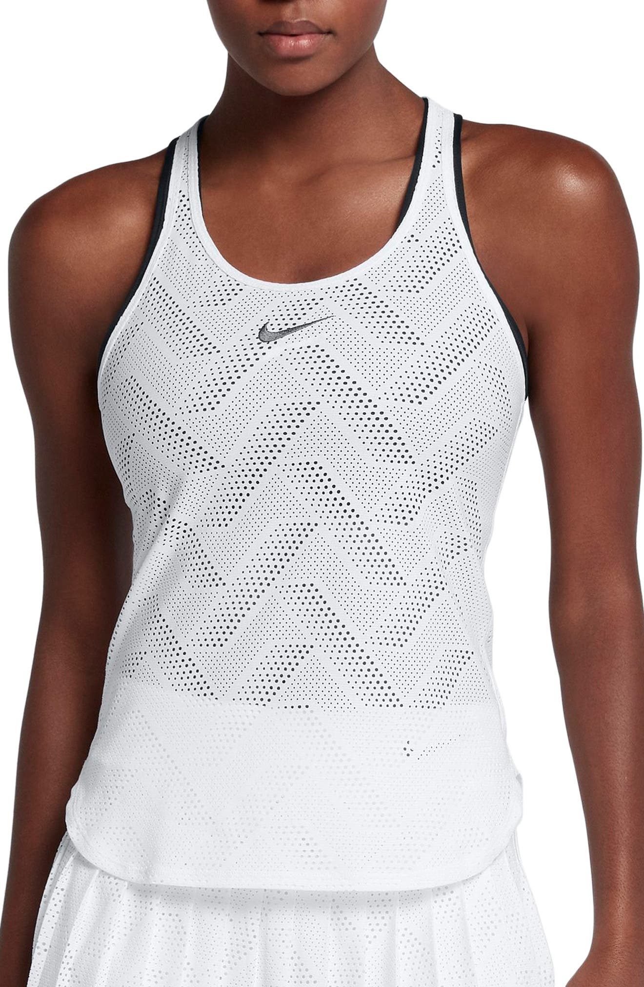 Alternate Image 1 Selected - Nike Maria Premier Dri-FIT Tank