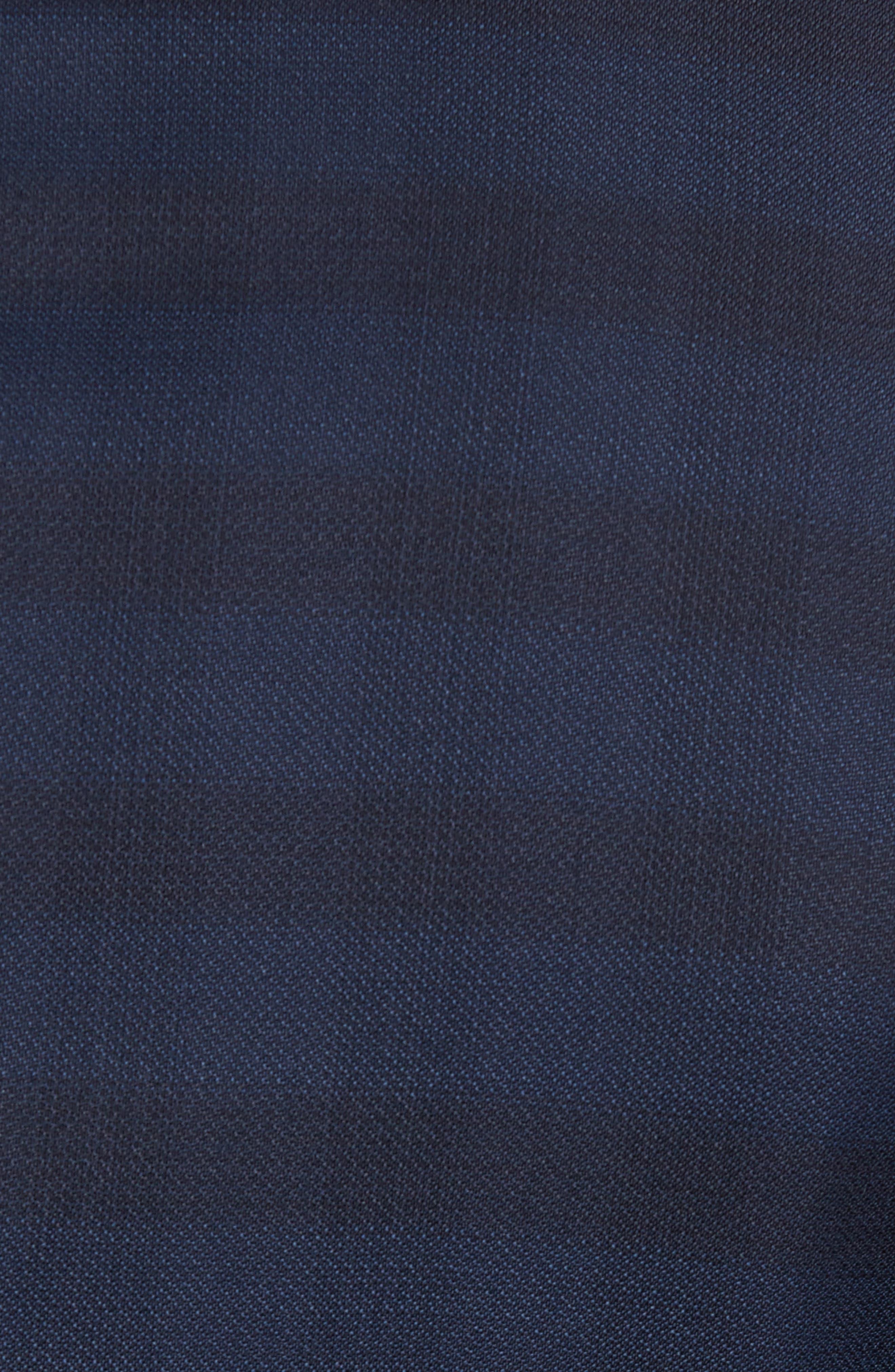 Alternate Image 7  - BOSS Huge/Genius Trim Fit Plaid Wool Suit