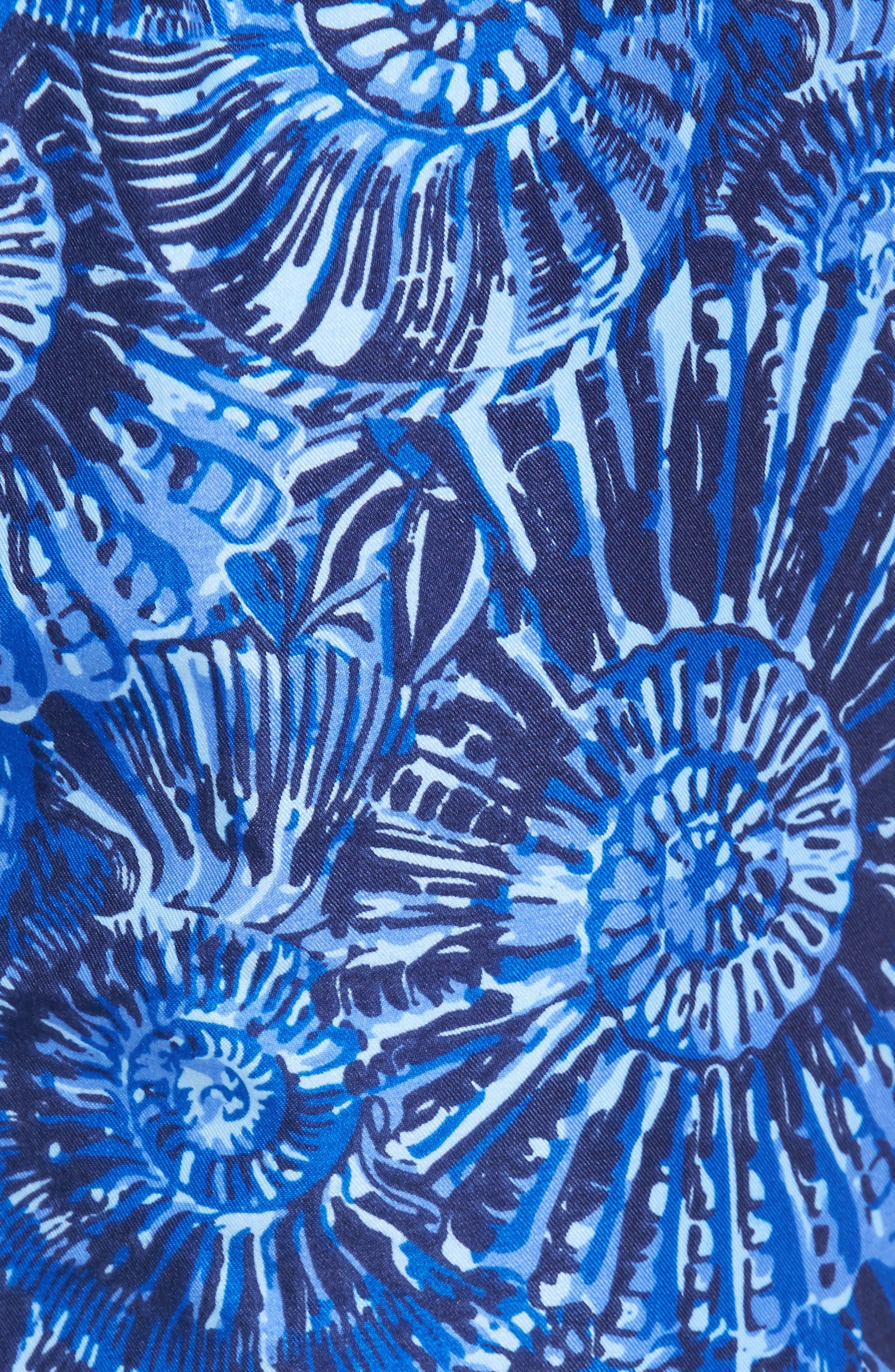 Alternate Image 5  - Peter Millar Tabby Shells Swim Trunks