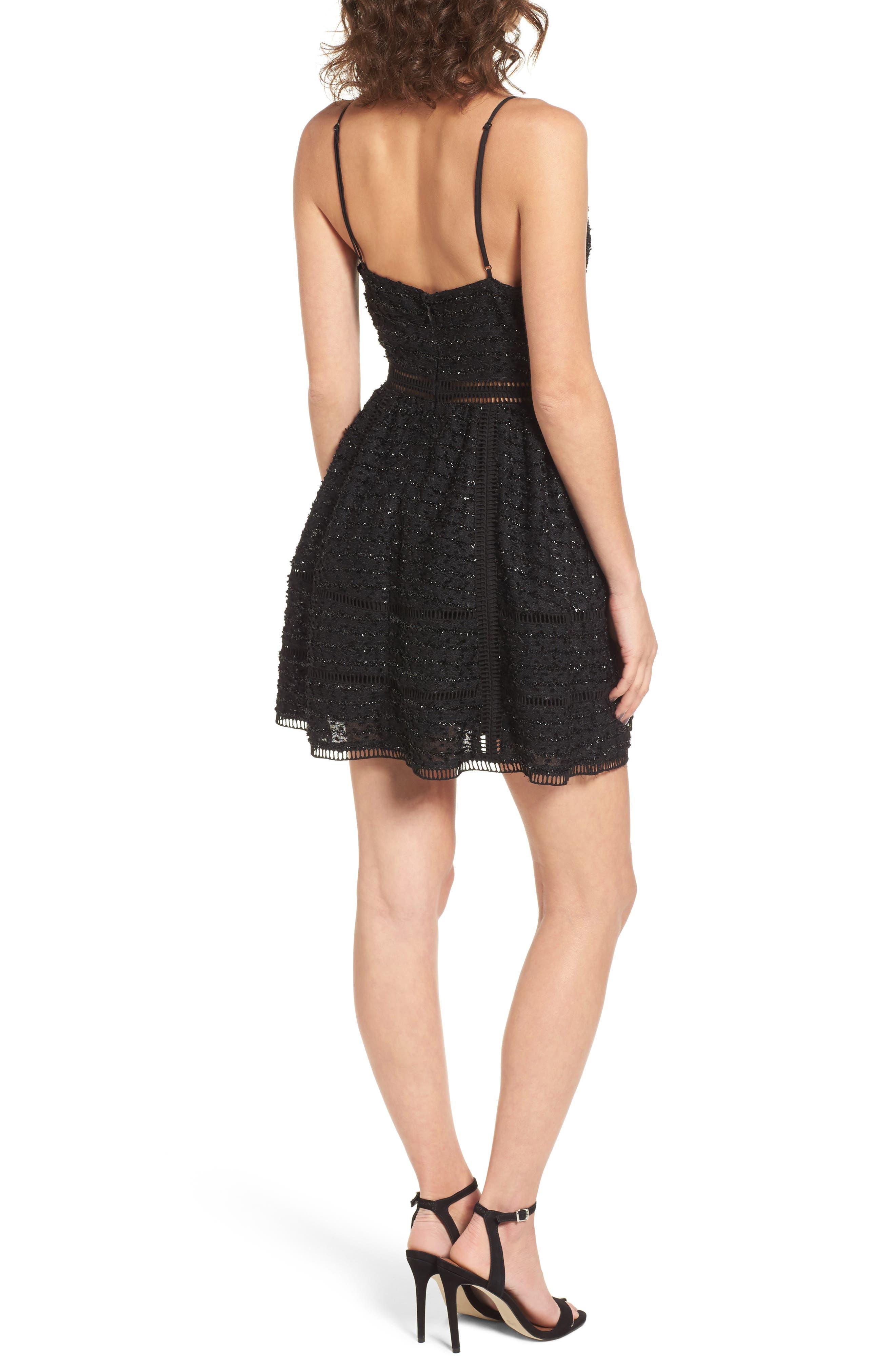 Alternate Image 2  - NBD Miley Beaded Fit & Flare Dress