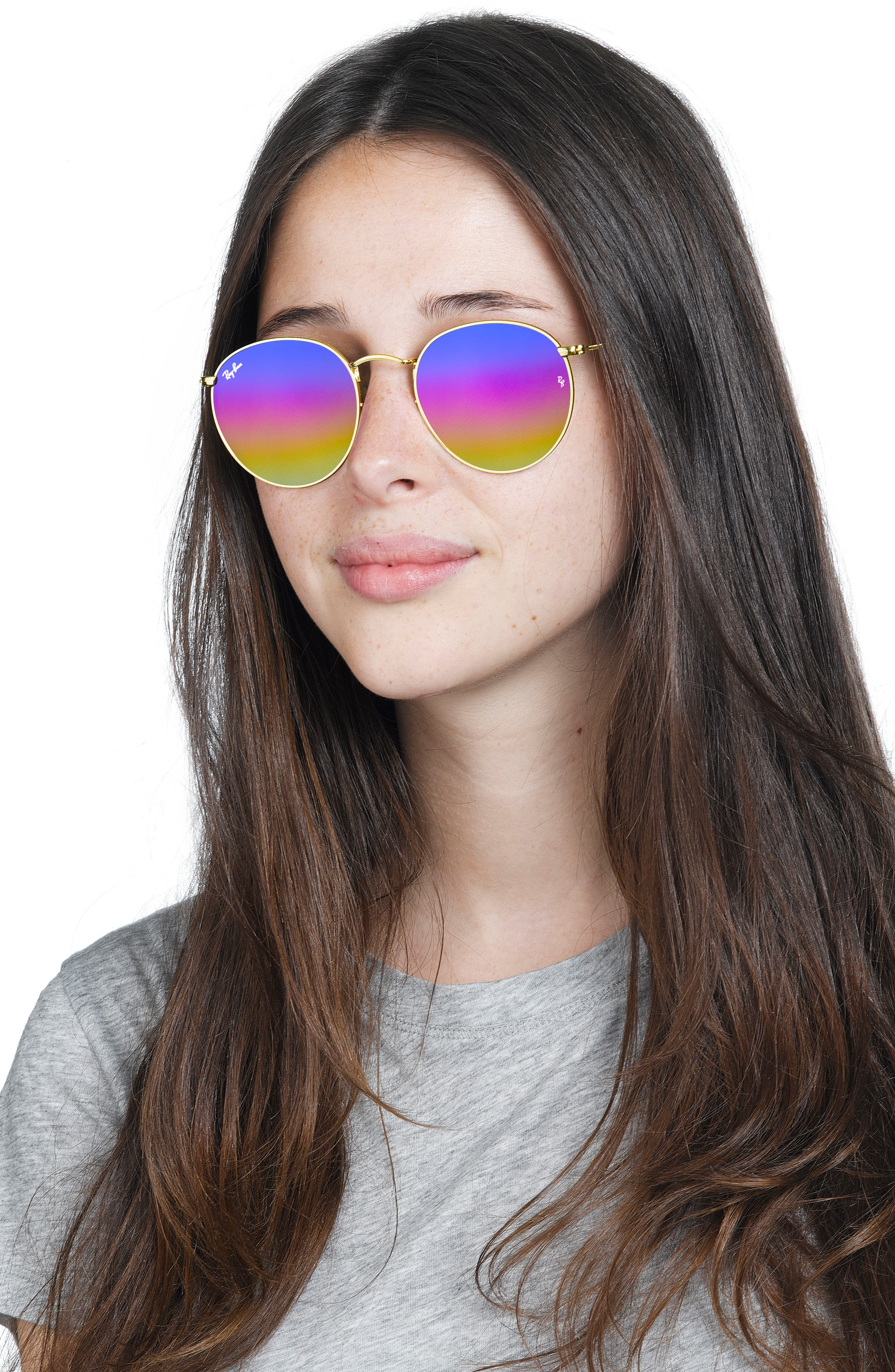 Alternate Image 4  - Ray-Ban 53mm Round Sunglasses (Nordstrom Exclusive)