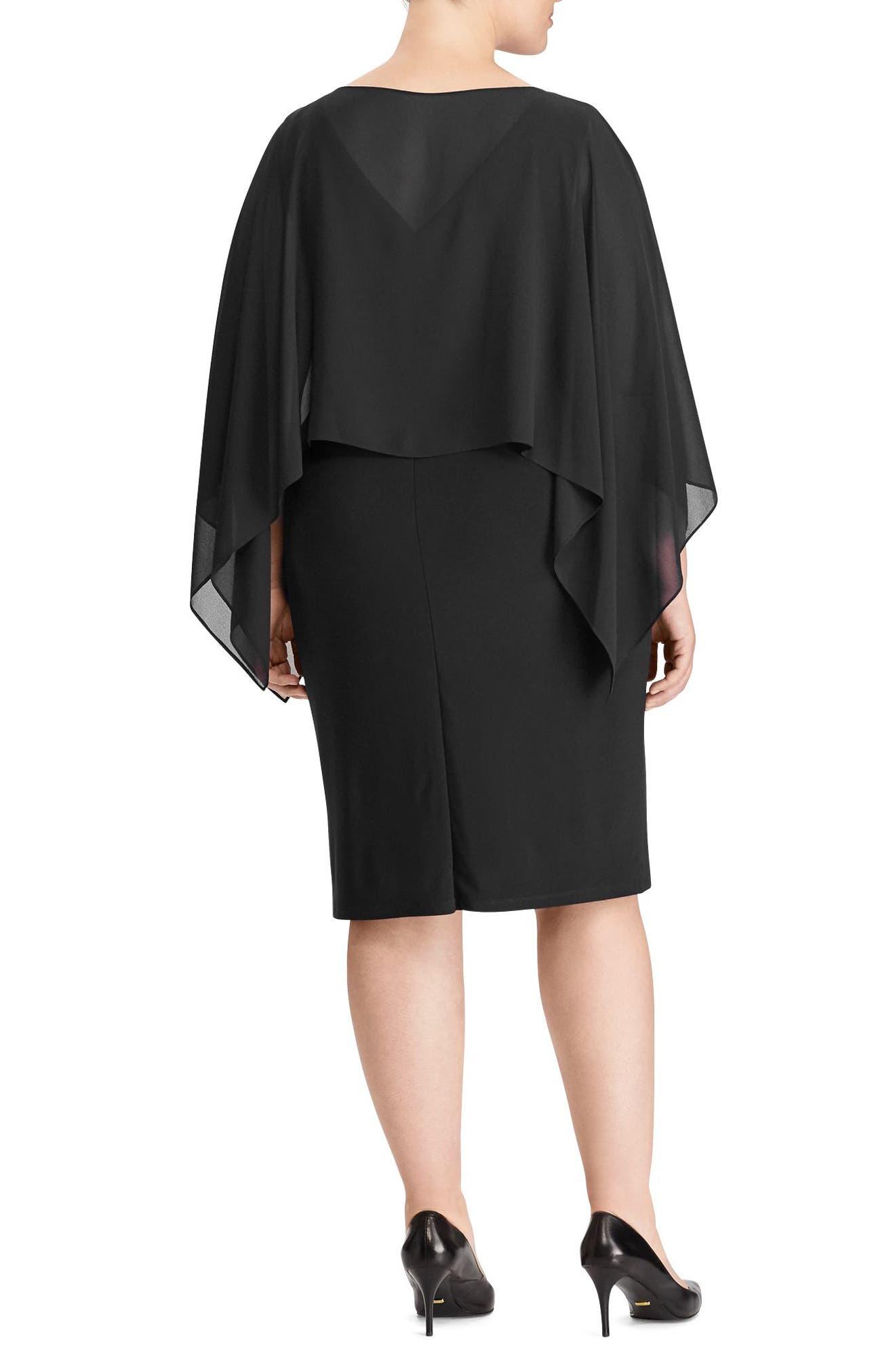 Mercinitta Dress,                             Alternate thumbnail 2, color,                             Black
