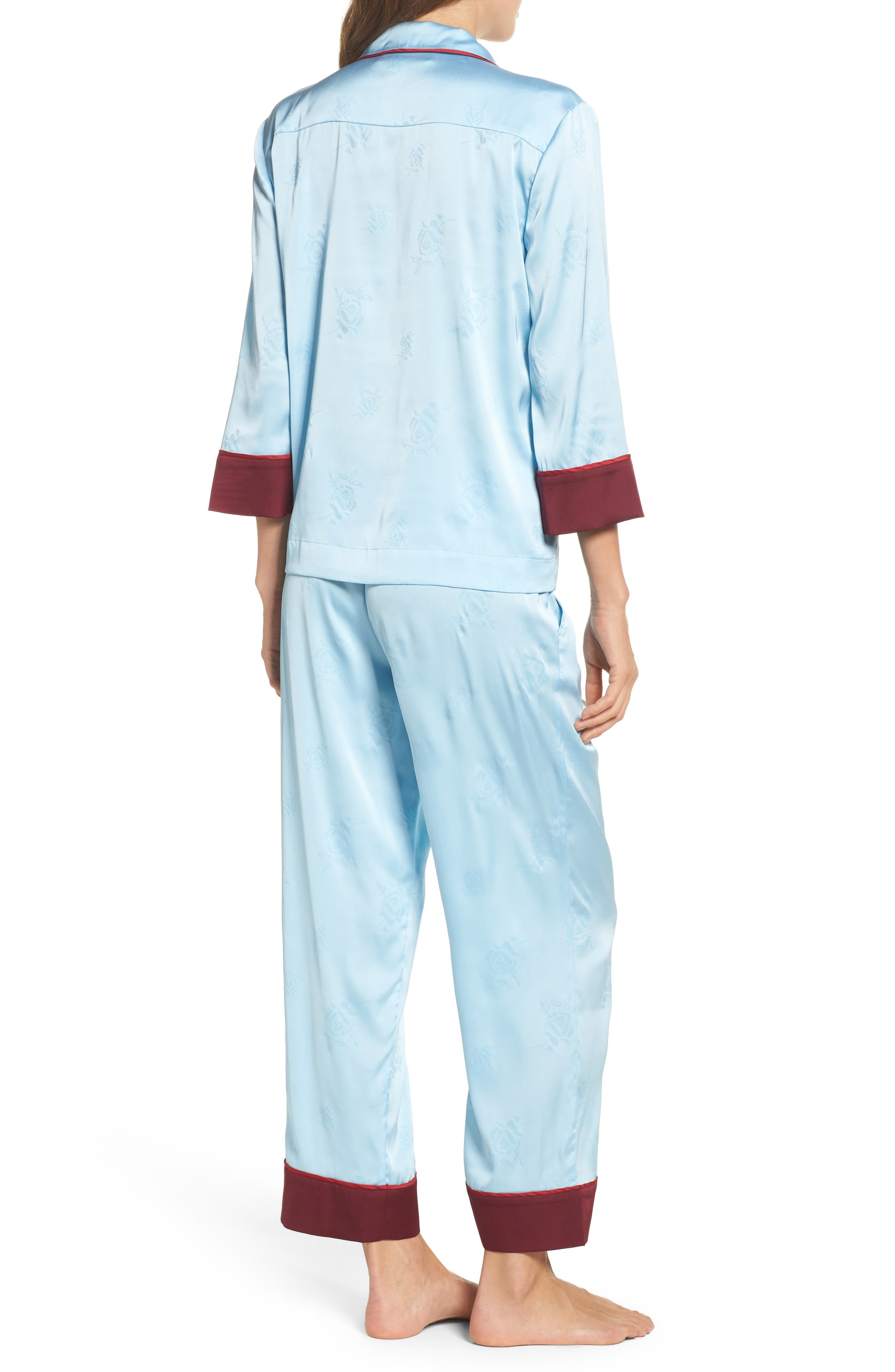 Alternate Image 2  - Bed to Brunch Crop Pajamas