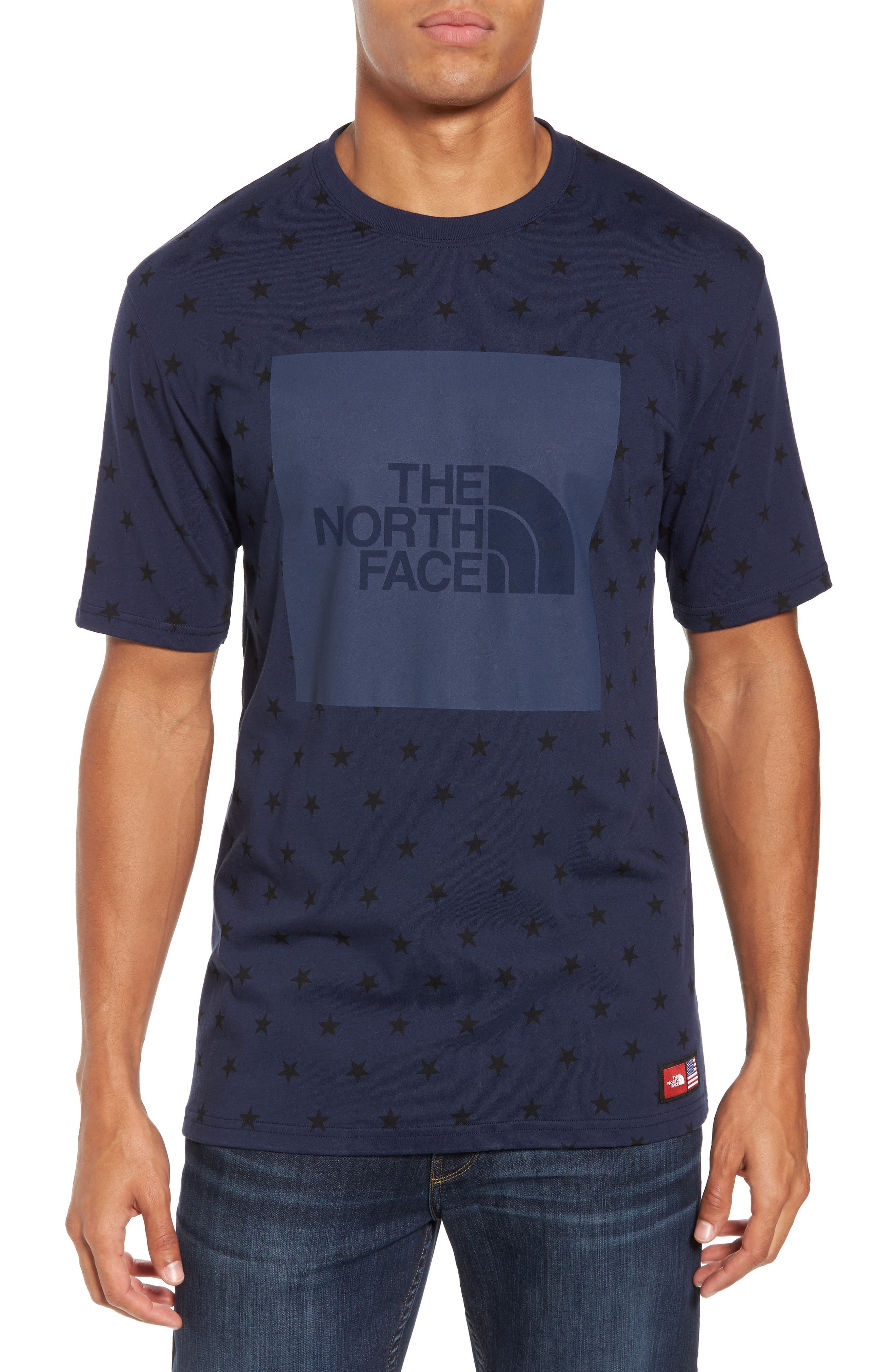 The North Face International Collection Star Print T-Shirt