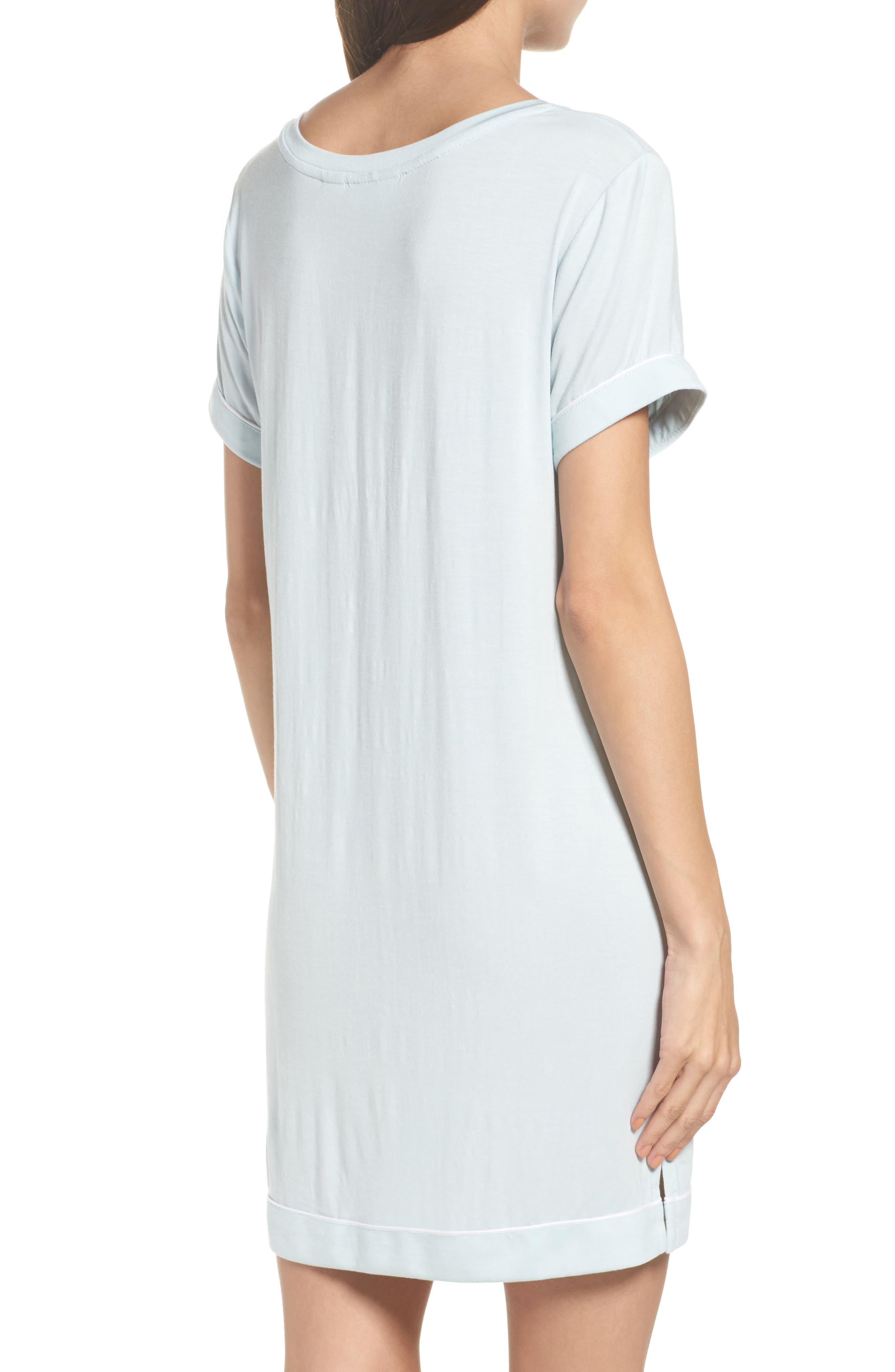 Alternate Image 2  - Nordstrom Lingerie Moonlight Sleep Shirt