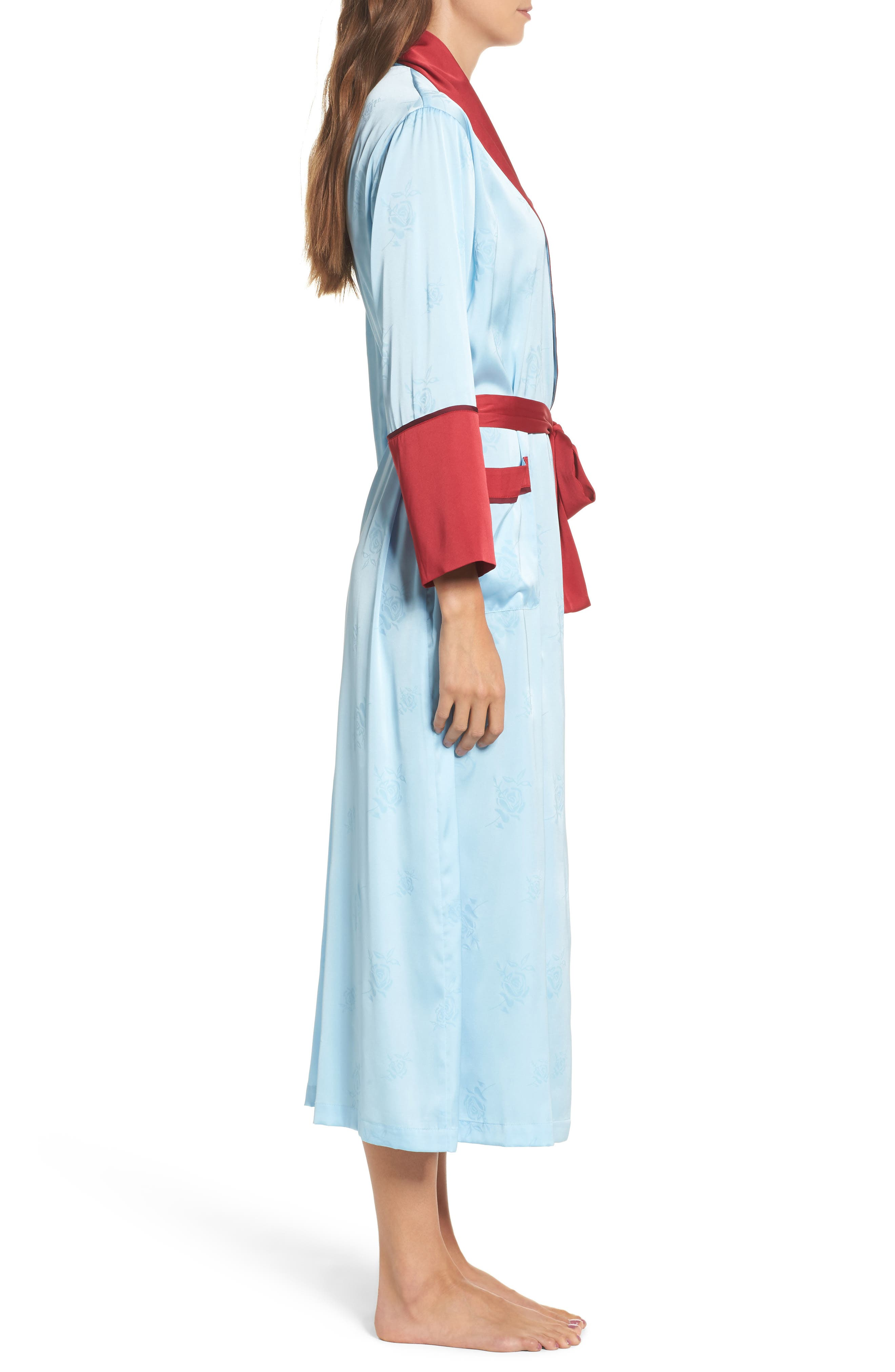 Robe,                             Alternate thumbnail 3, color,                             Light Blue