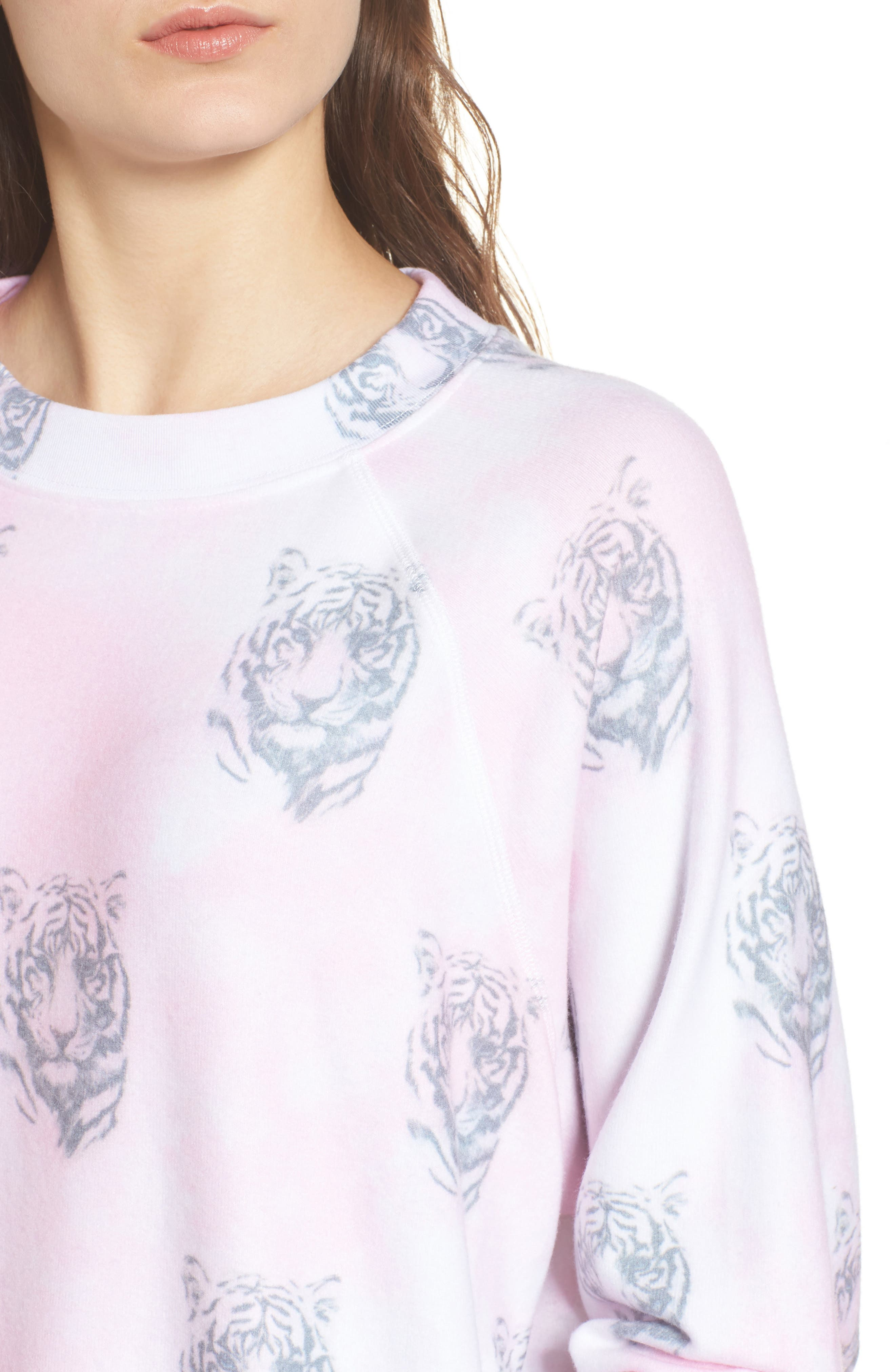 Bengals - Sommers Sweatshirt,                             Alternate thumbnail 4, color,                             Pink Flush
