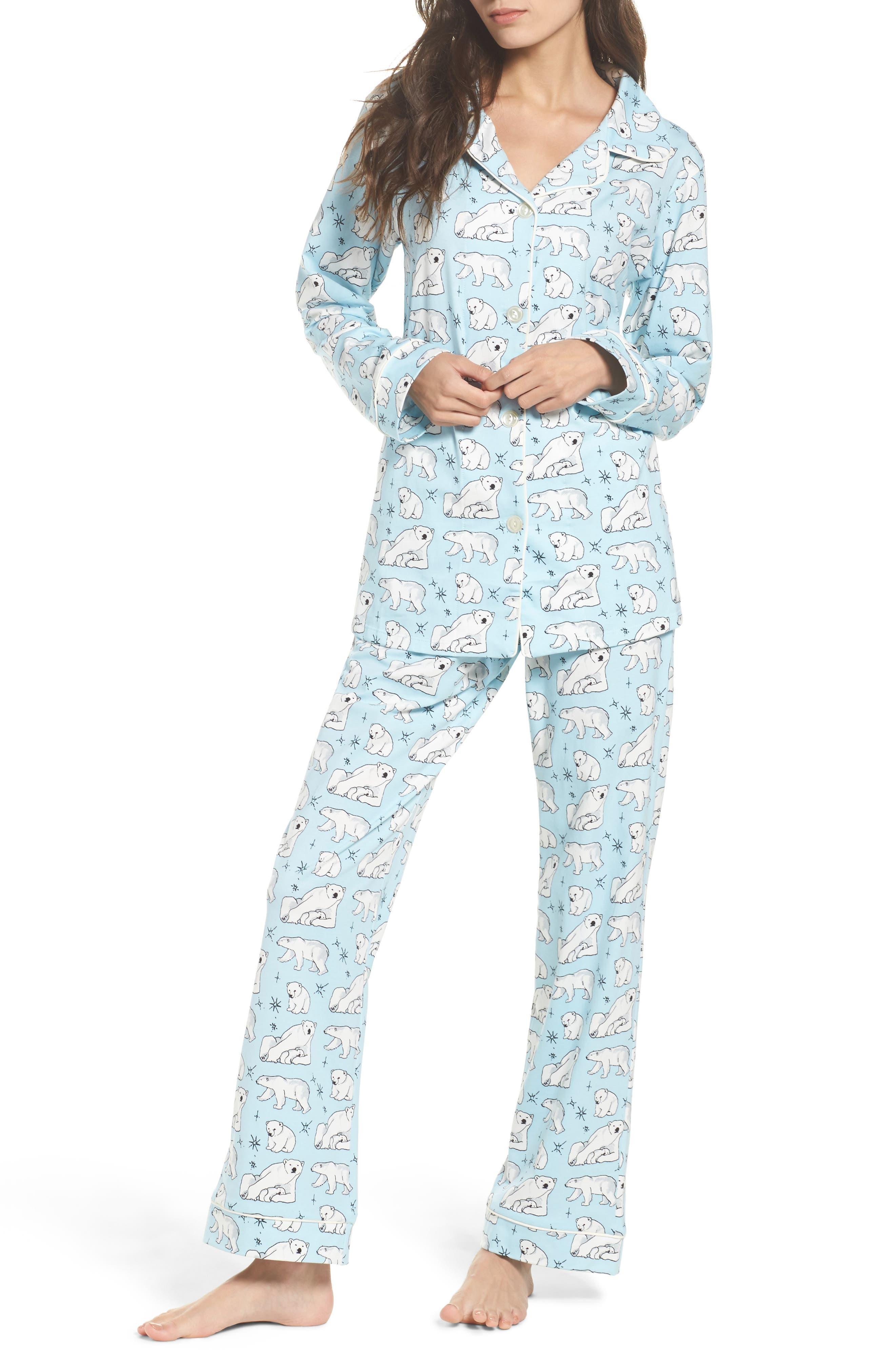 BedHead Polar Bear Print Pajamas