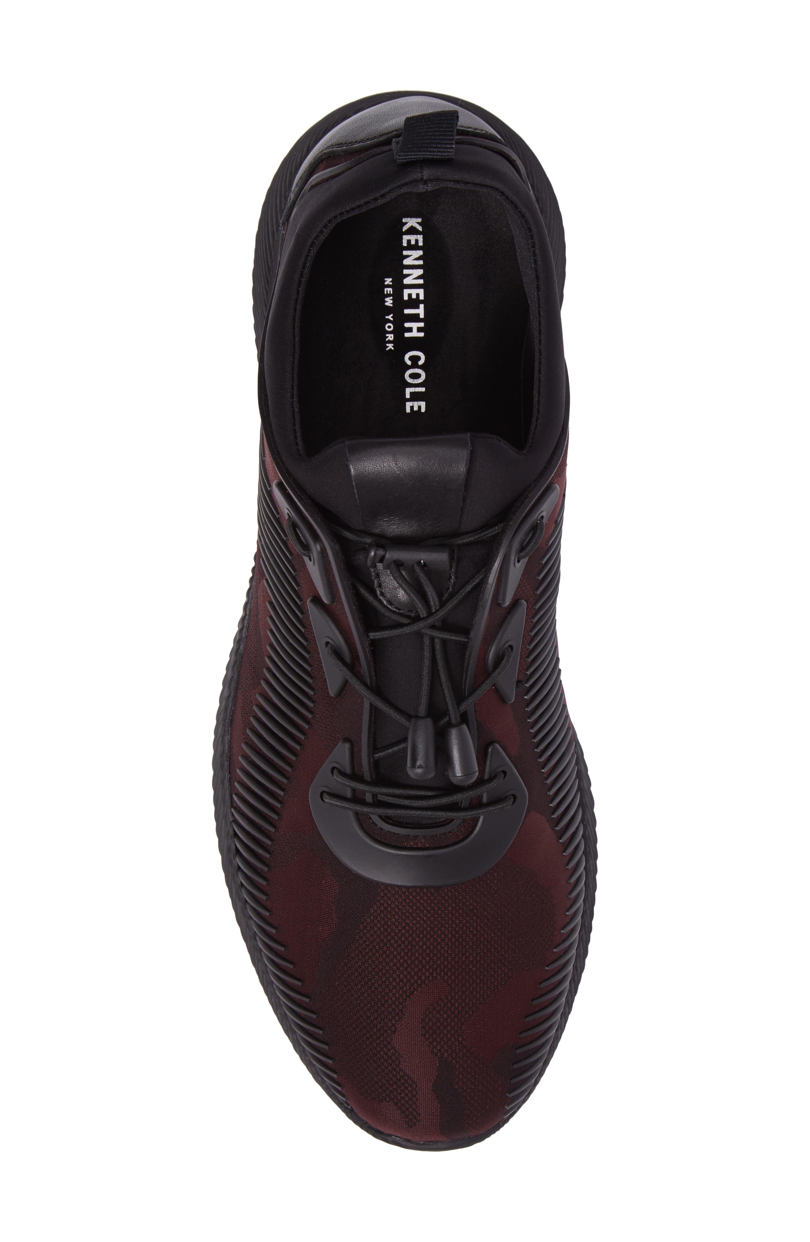 Sinch Sneaker,                             Alternate thumbnail 5, color,                             Bordeaux Fabric