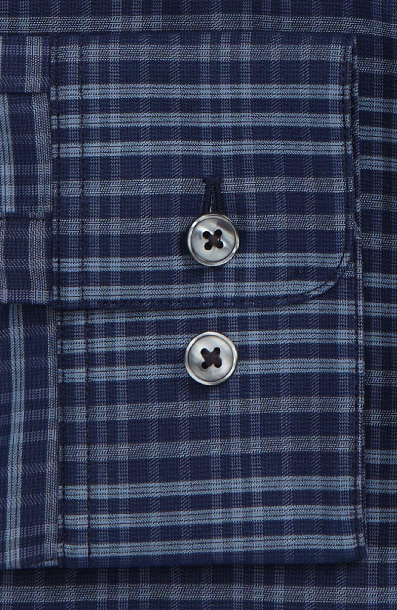 Alternate Image 2  - John Varvatos Star USA Slim Fit Stretch Check Dress Shirt