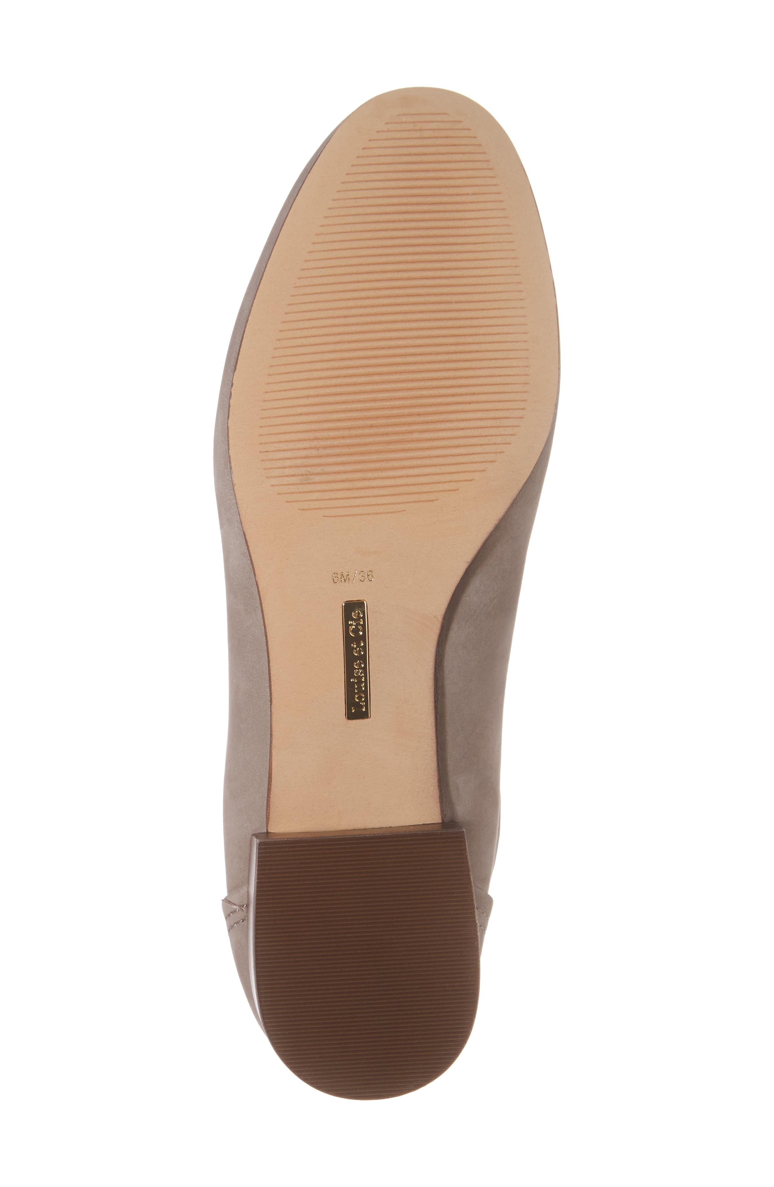 Waldon Chelsea Boot,                             Alternate thumbnail 6, color,                             Gravel Leather
