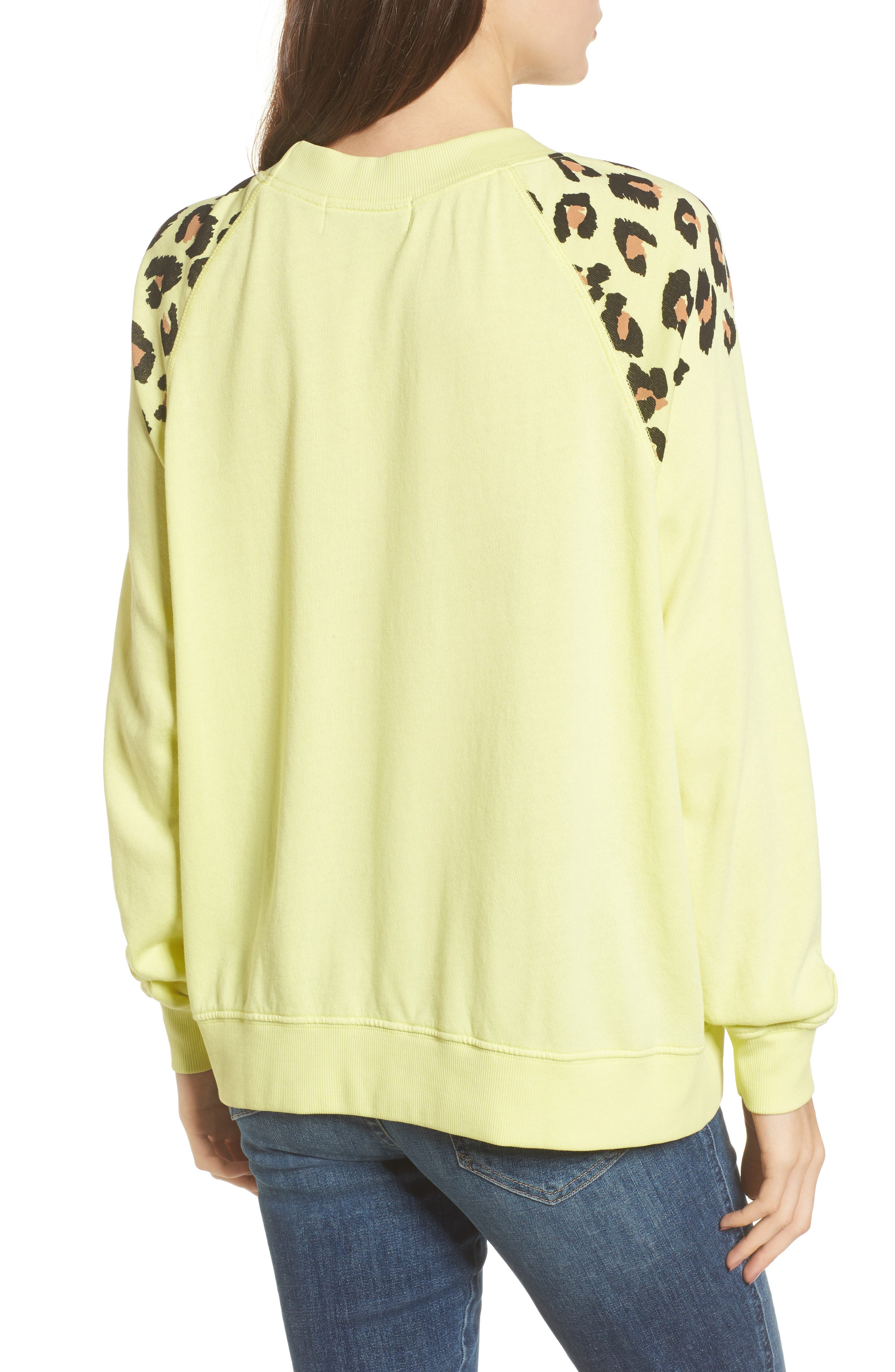 Alternate Image 2  - Wildfox Animal Instinct - Sommers Sweatshirt