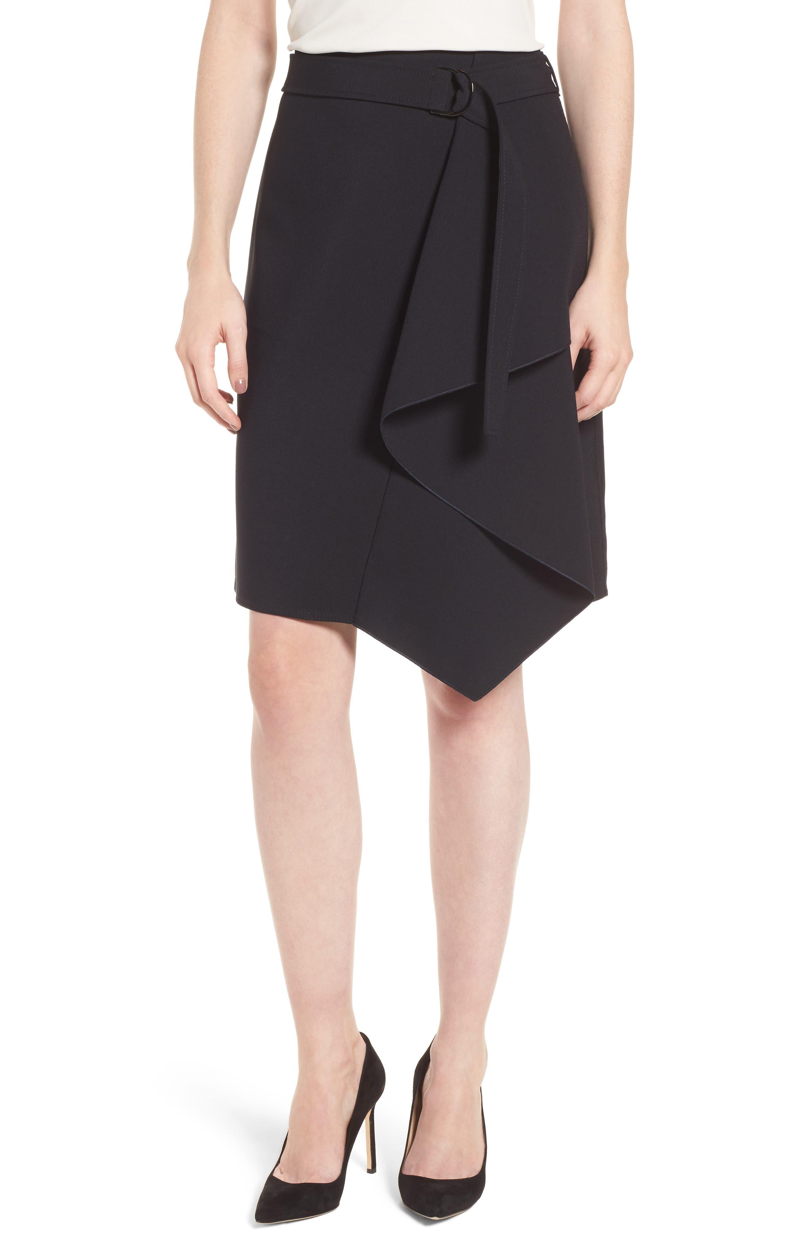 Mavea Skirt,                             Main thumbnail 1, color,                             Navy
