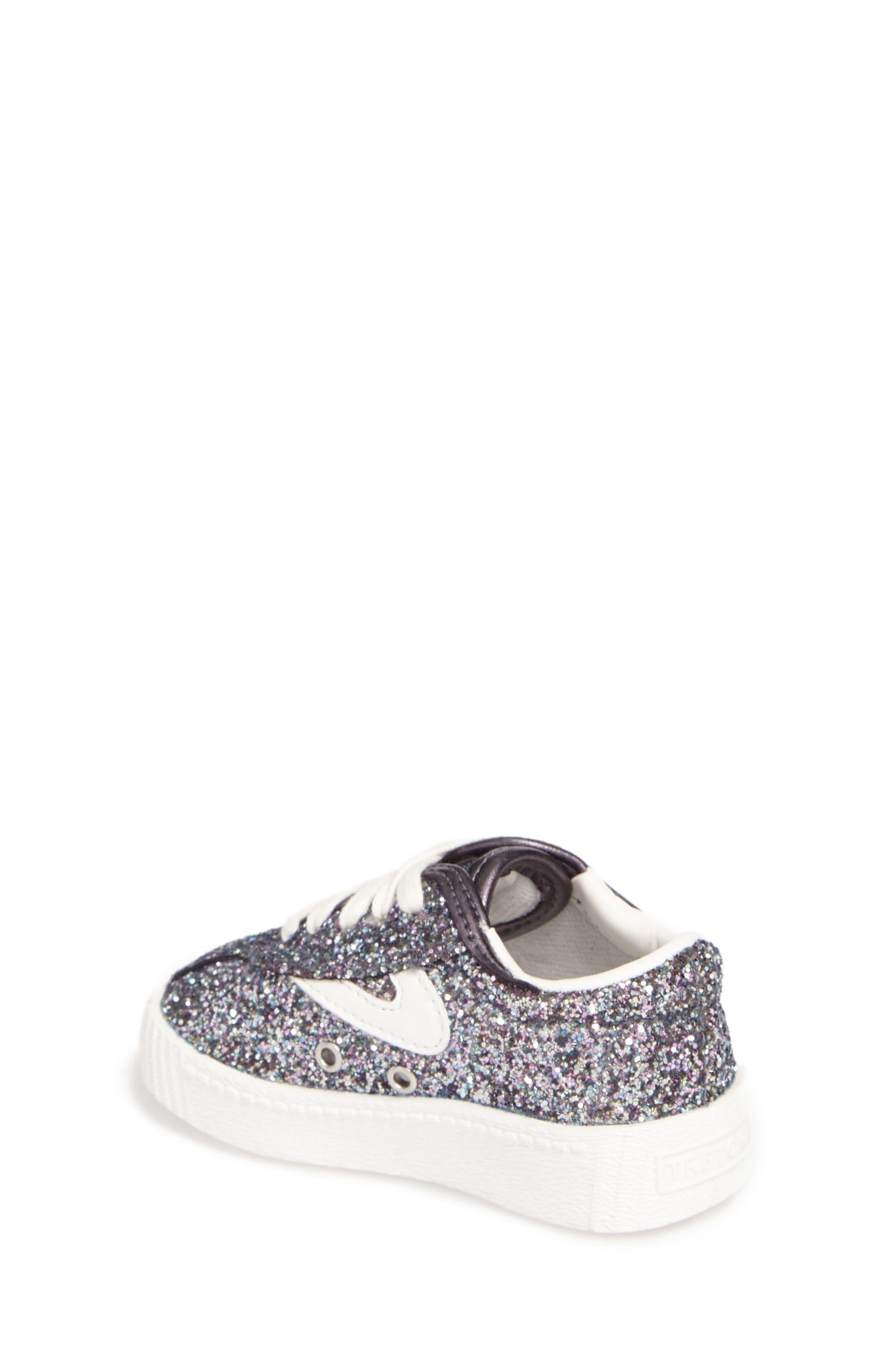 Nylite Sugar Glitter Sneaker,                             Alternate thumbnail 2, color,                             Dark Grey Glitter