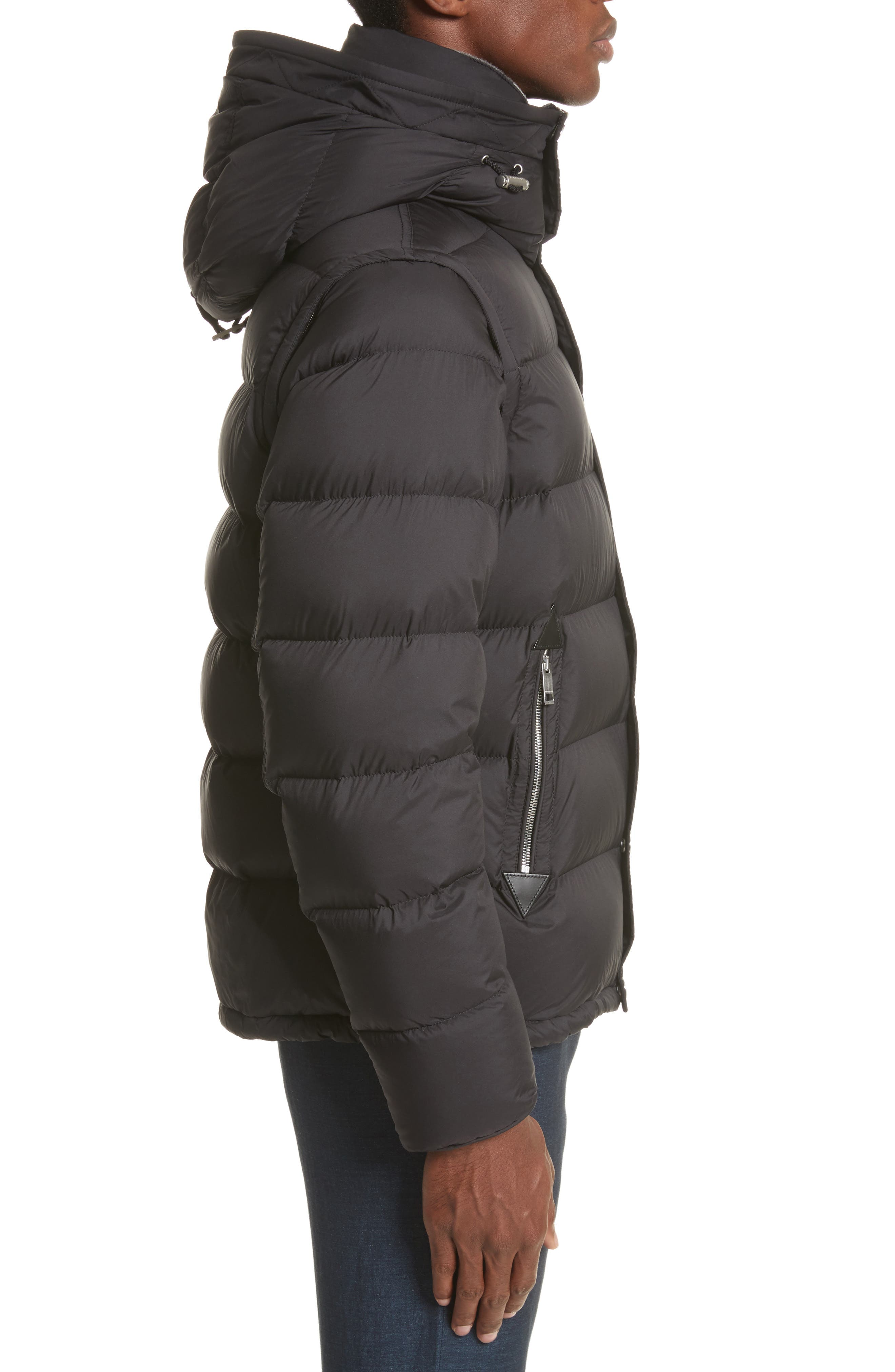 Alternate Image 3  - Burberry Hartley Convertible Down Jacket