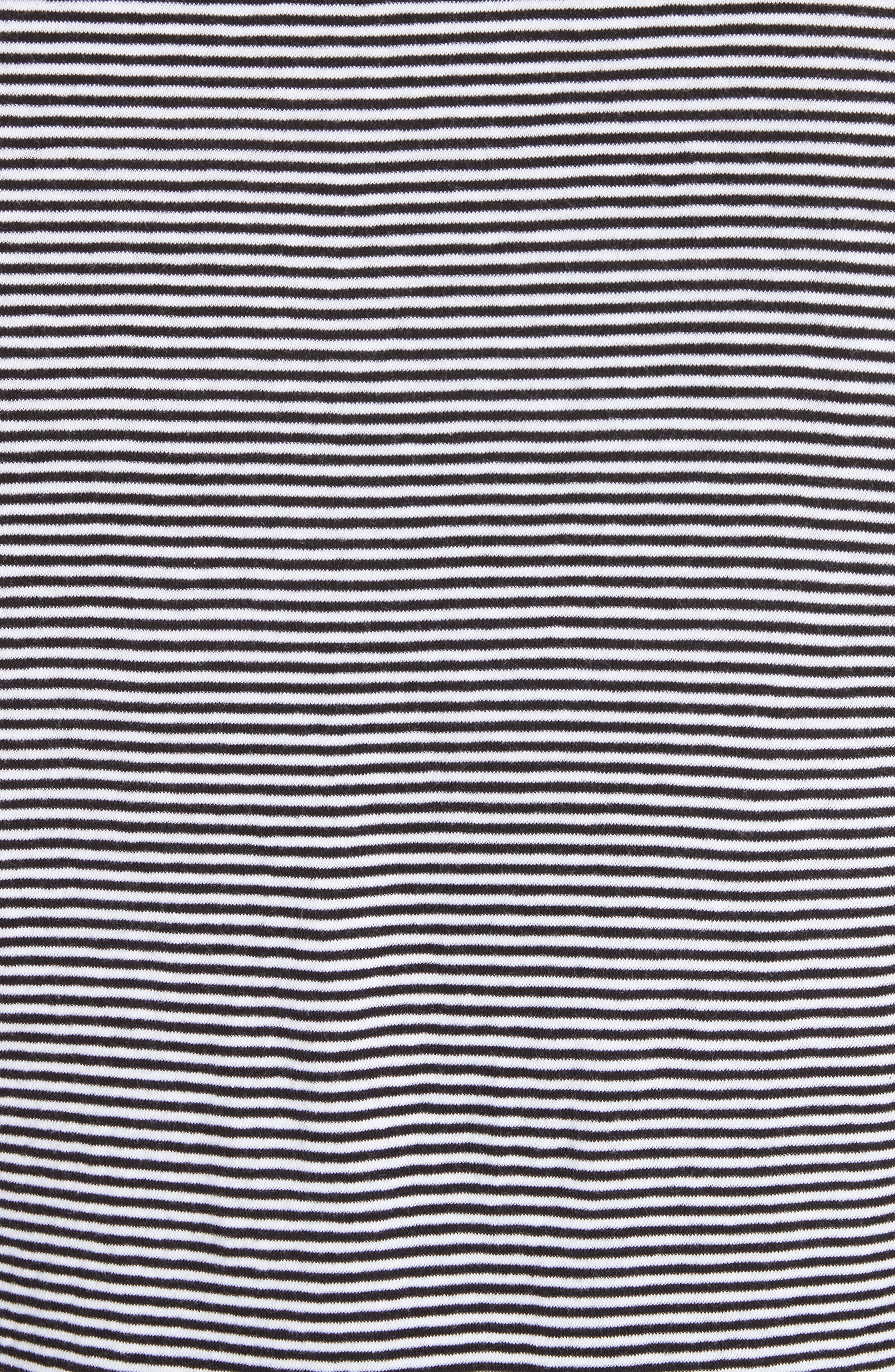Alternate Image 5  - Burberry Tayford Stripe Long Sleeve T-Shirt