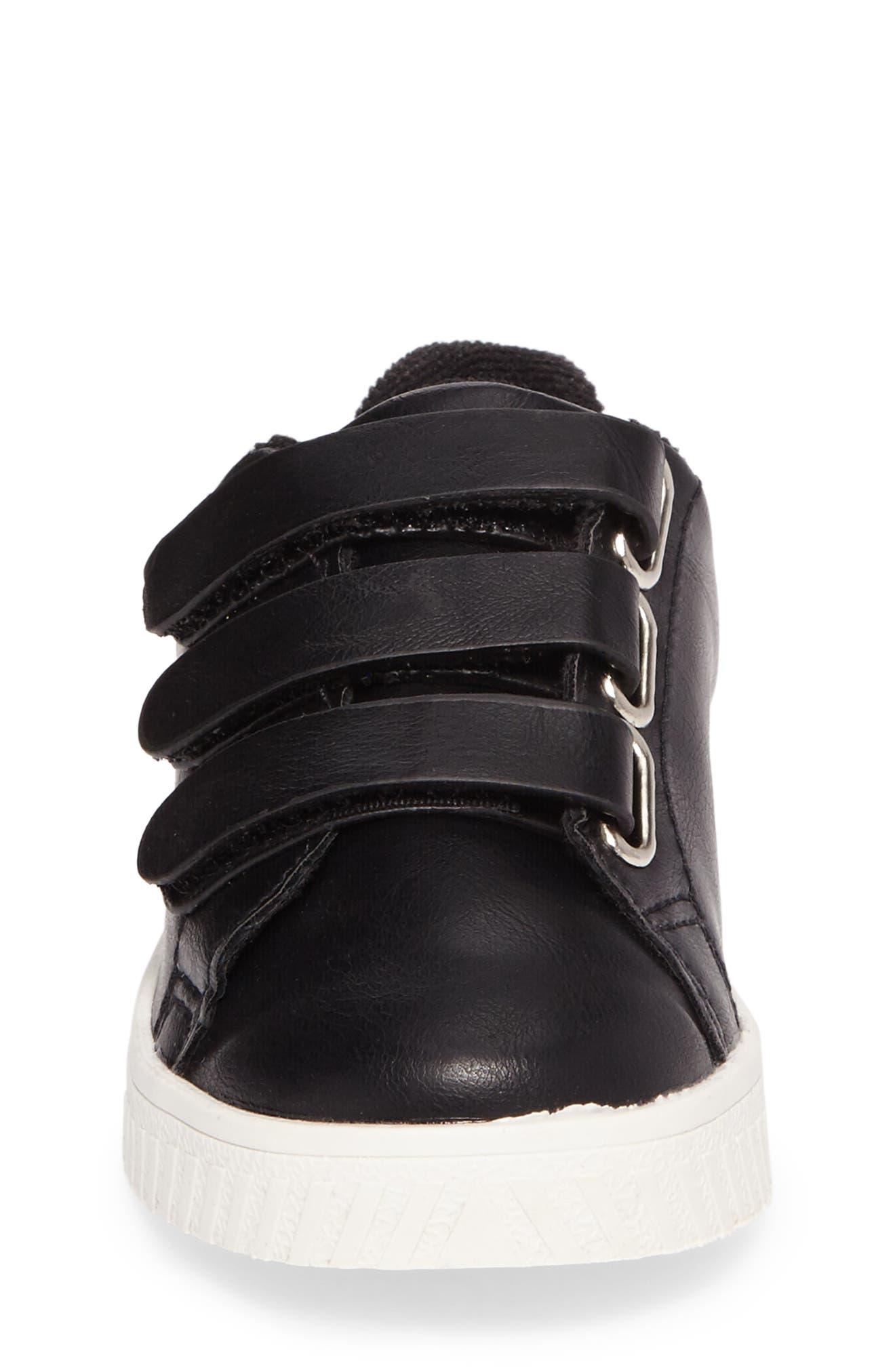 Camden Carry Sneaker,                             Alternate thumbnail 4, color,                             Black Vintage White