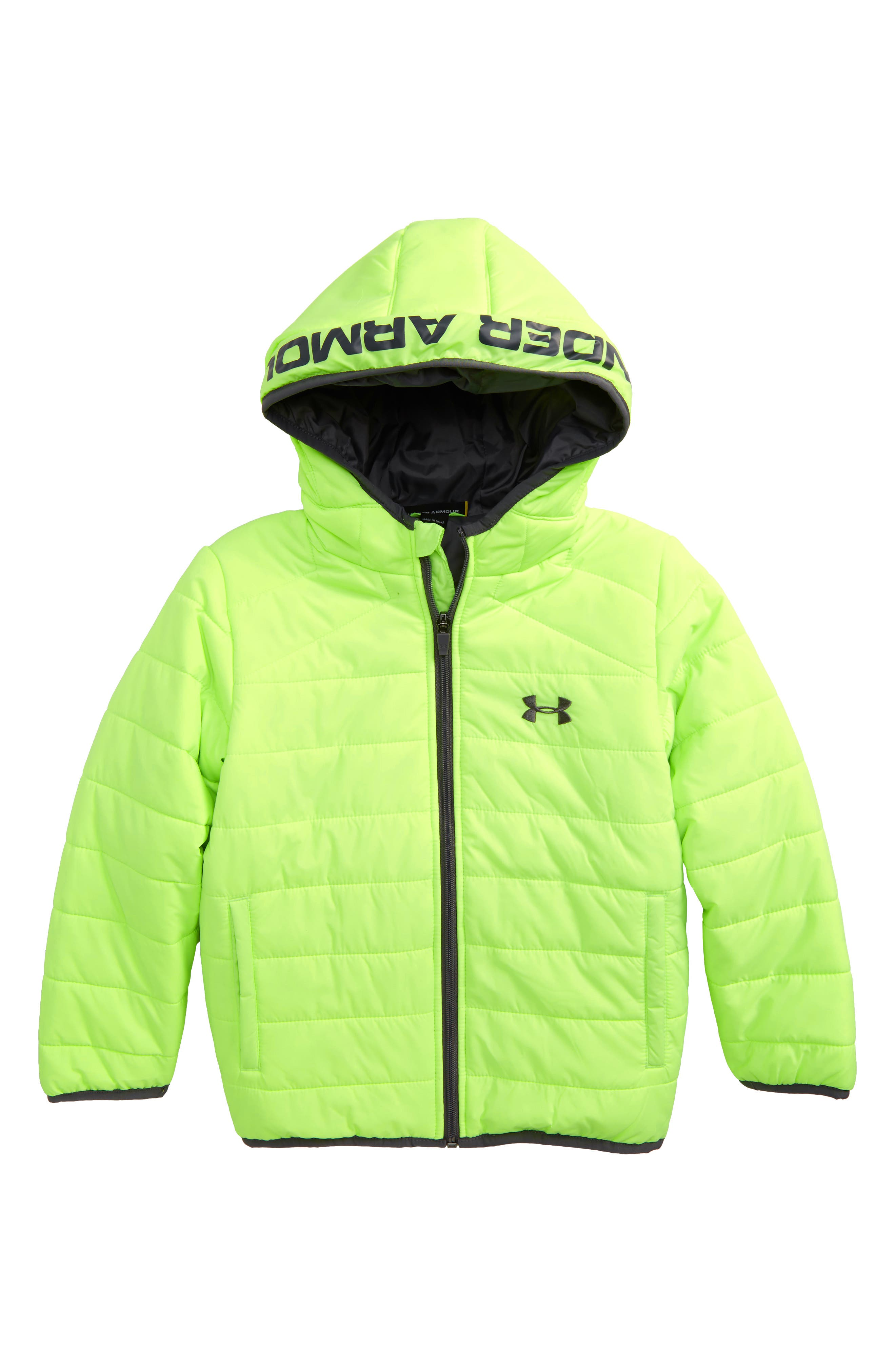 Under Armour Feature Water Resistant ColdGear® Puffer Jacket (Toddler Boys & Little Boys)