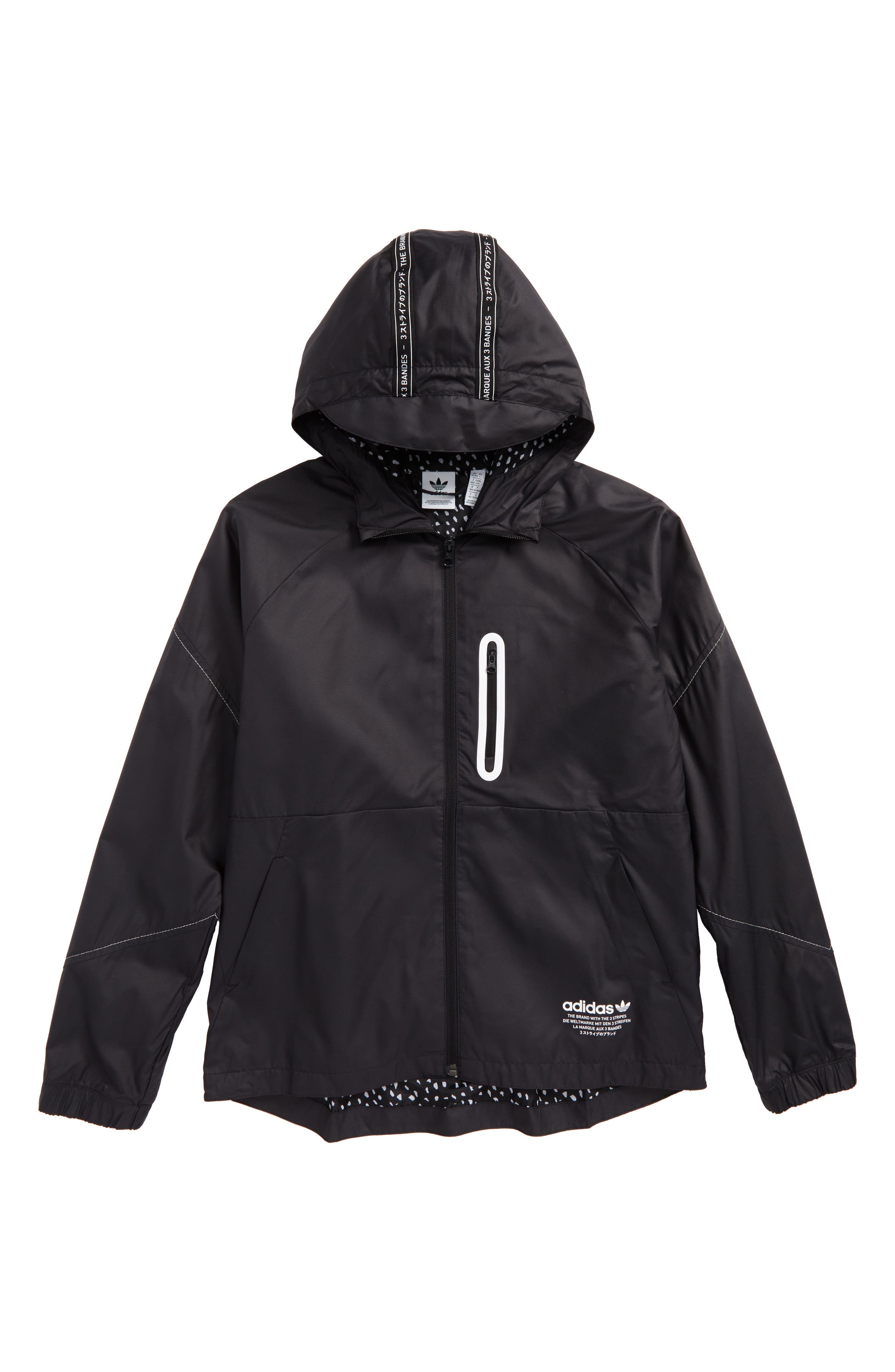 adidas Junior NMD Hooded Windbreaker (Little Boys & Big Boys)