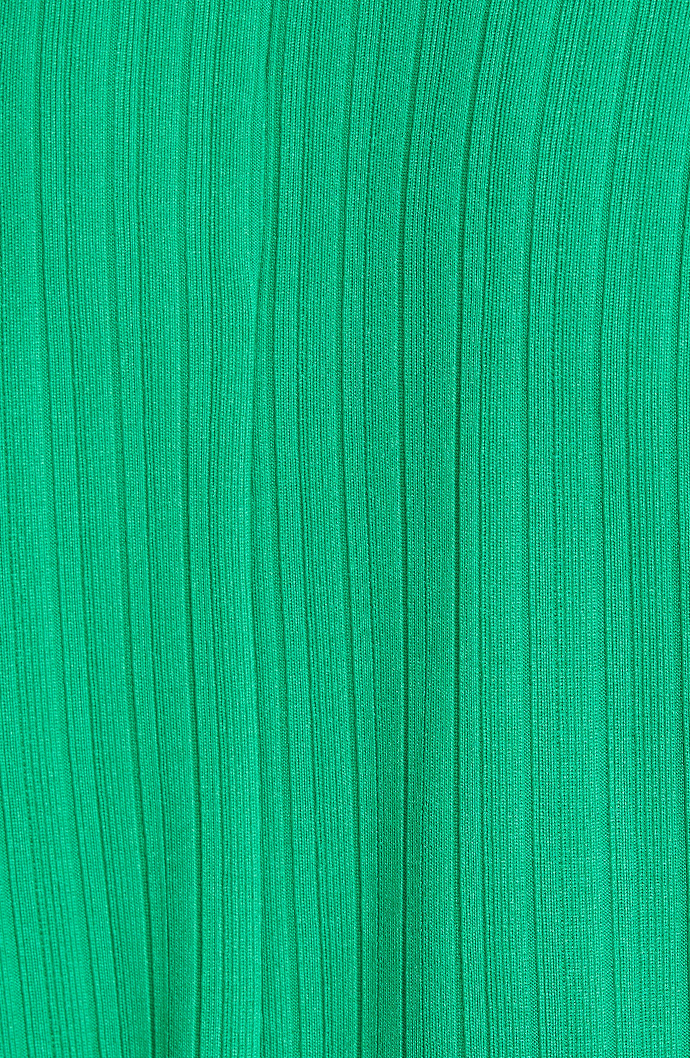 Alternate Image 5  - Chaus Ribbed Knit Cold Shoulder Top