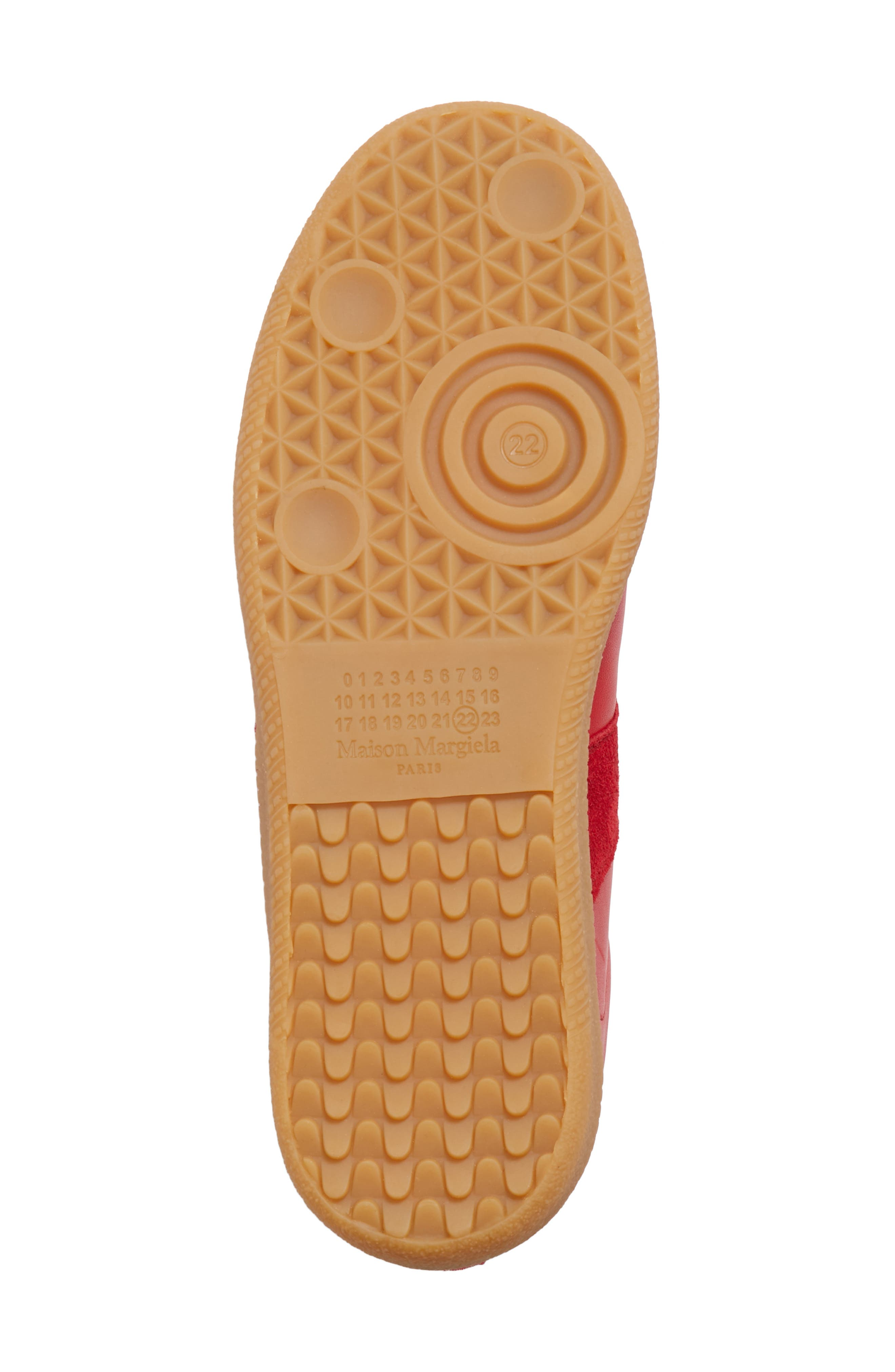 Replica Sneaker,                             Alternate thumbnail 6, color,                             Red/Amber